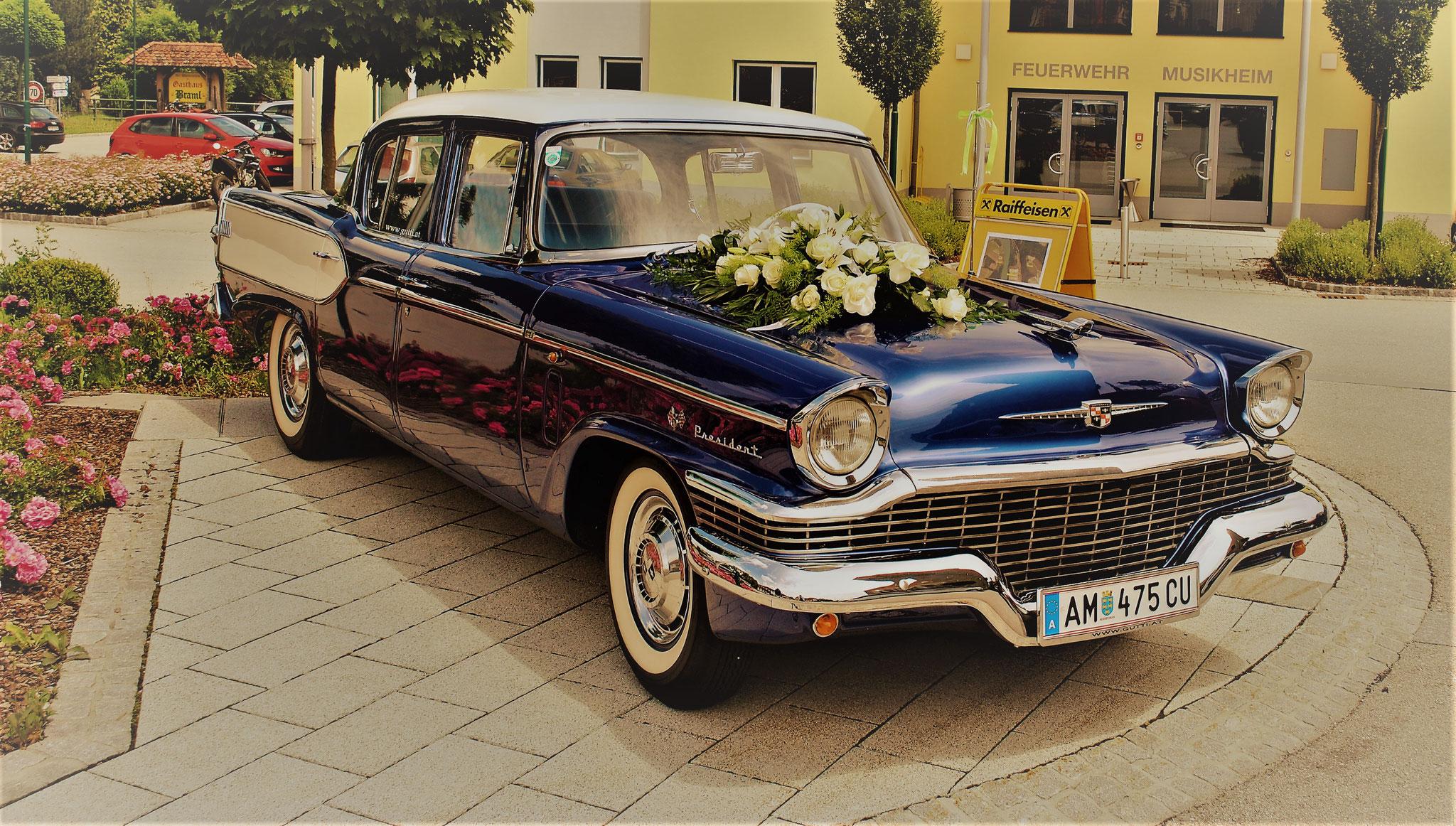 Studebaker President als Hochzeitsauto