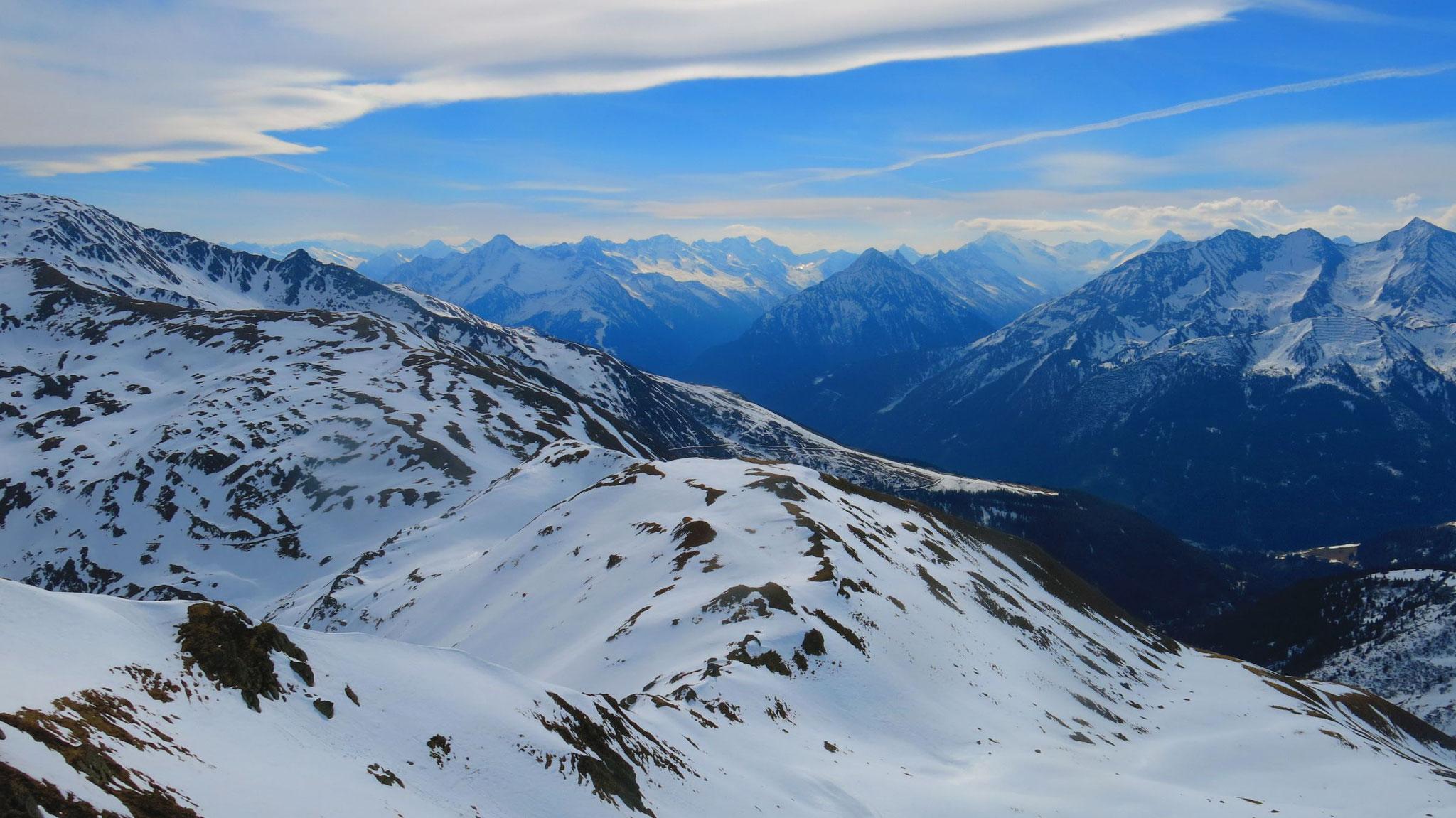 Zillertaler zwischen Ahornspitze und Großem Löffler