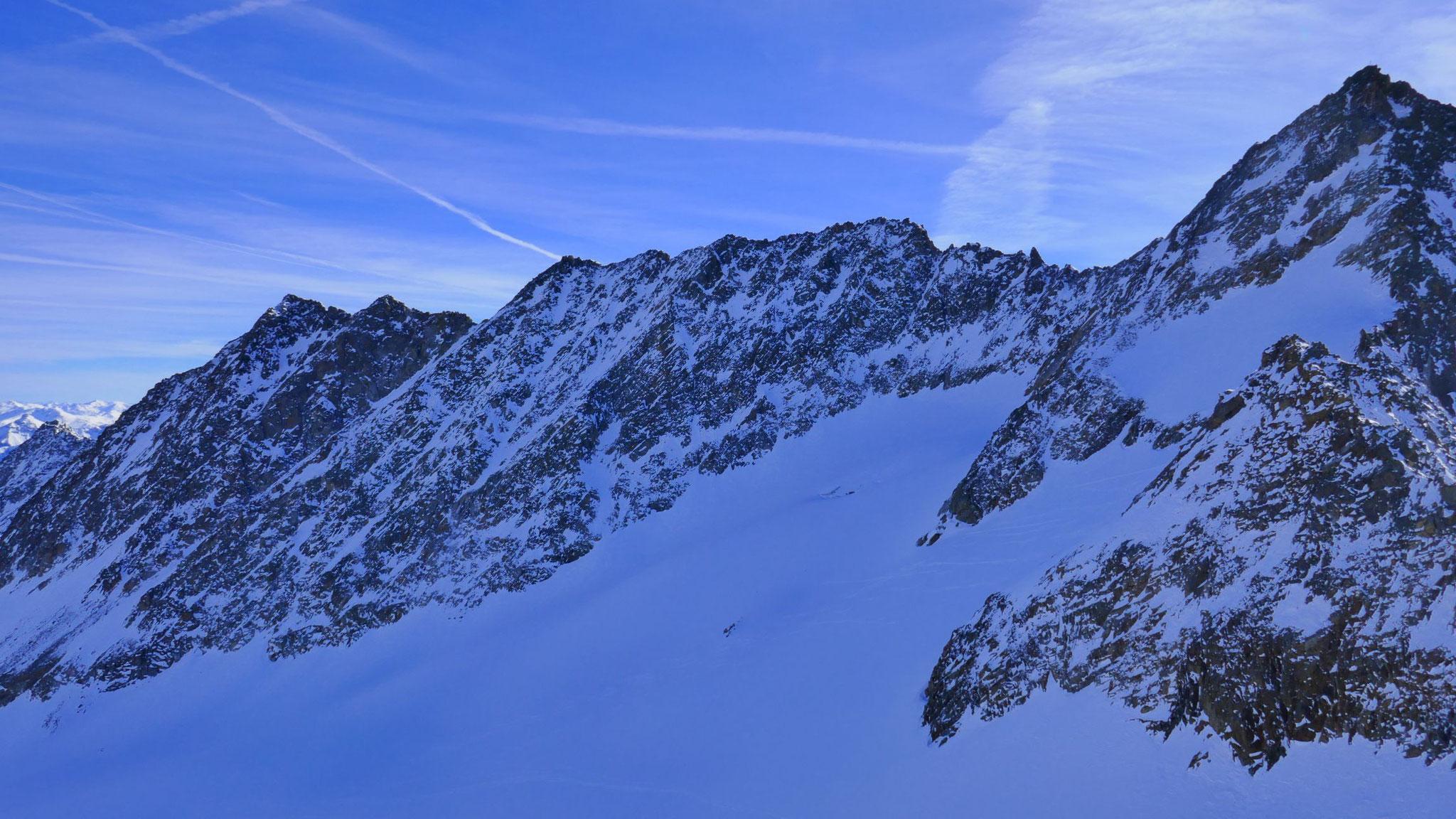 Alpeiner Knotenspitze und Nördliche/Mittlere Kräulspitze