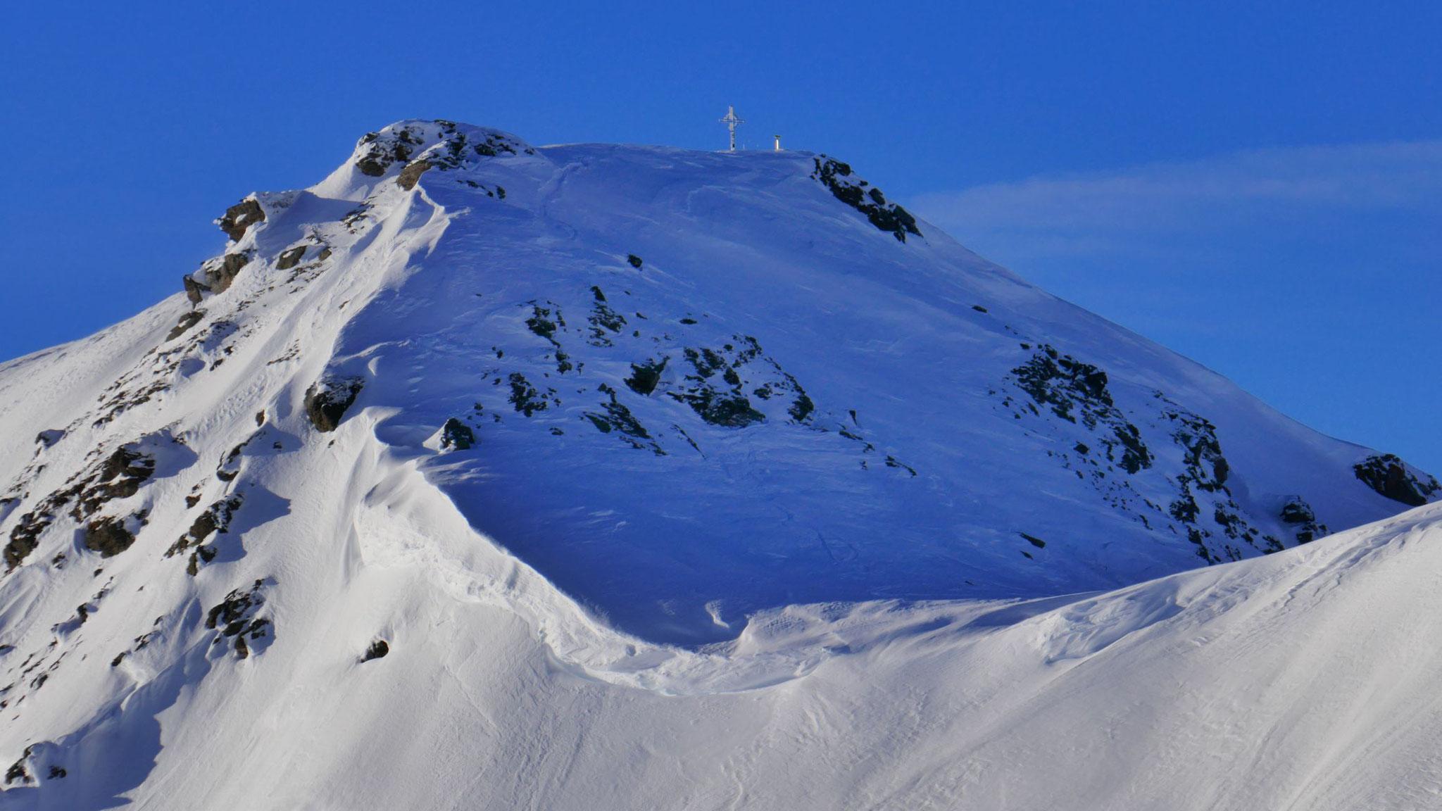 Gipfelanstieg Grünbergspitze