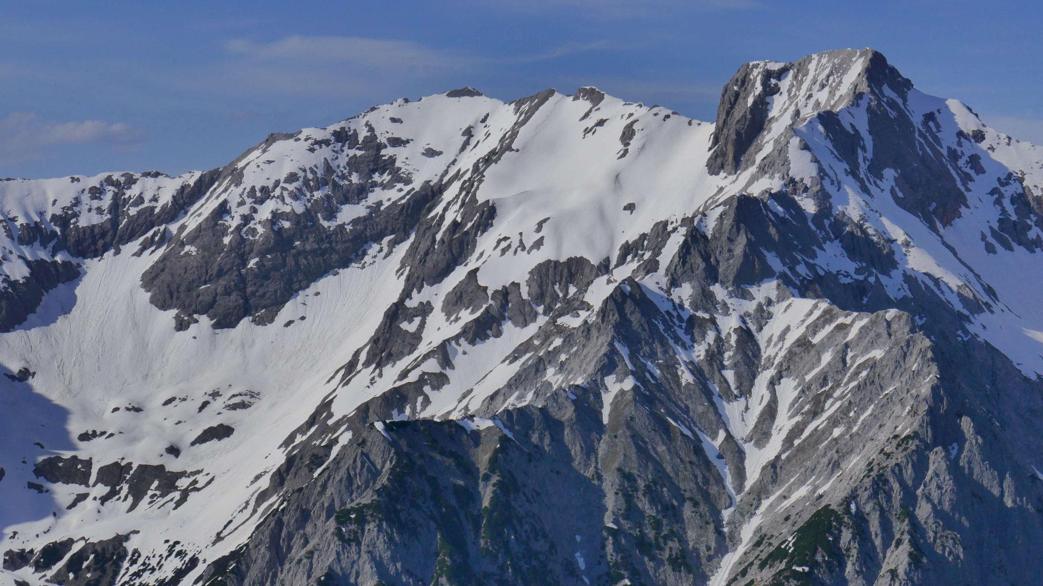 Spritzkar- und Eiskarspitze