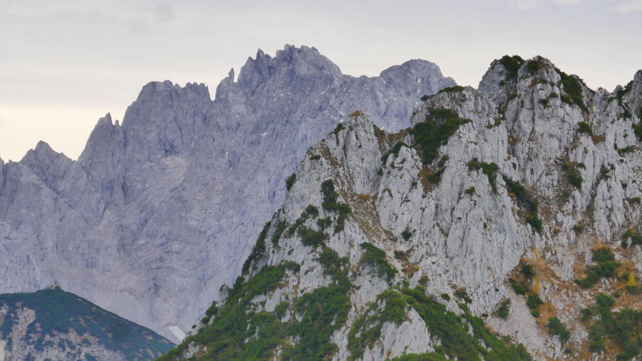 Ein kleines Gipfelkreuz gäbs auch zu erobern - next time!