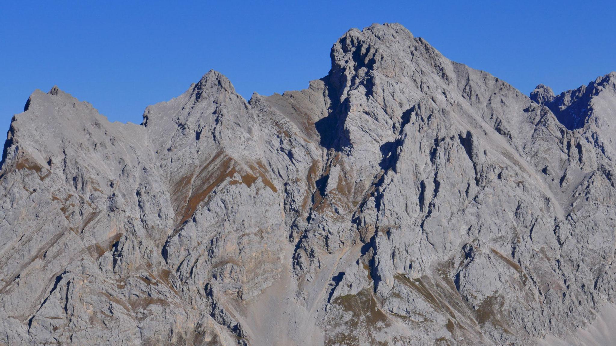 Marienbergspitzen und Grünstein