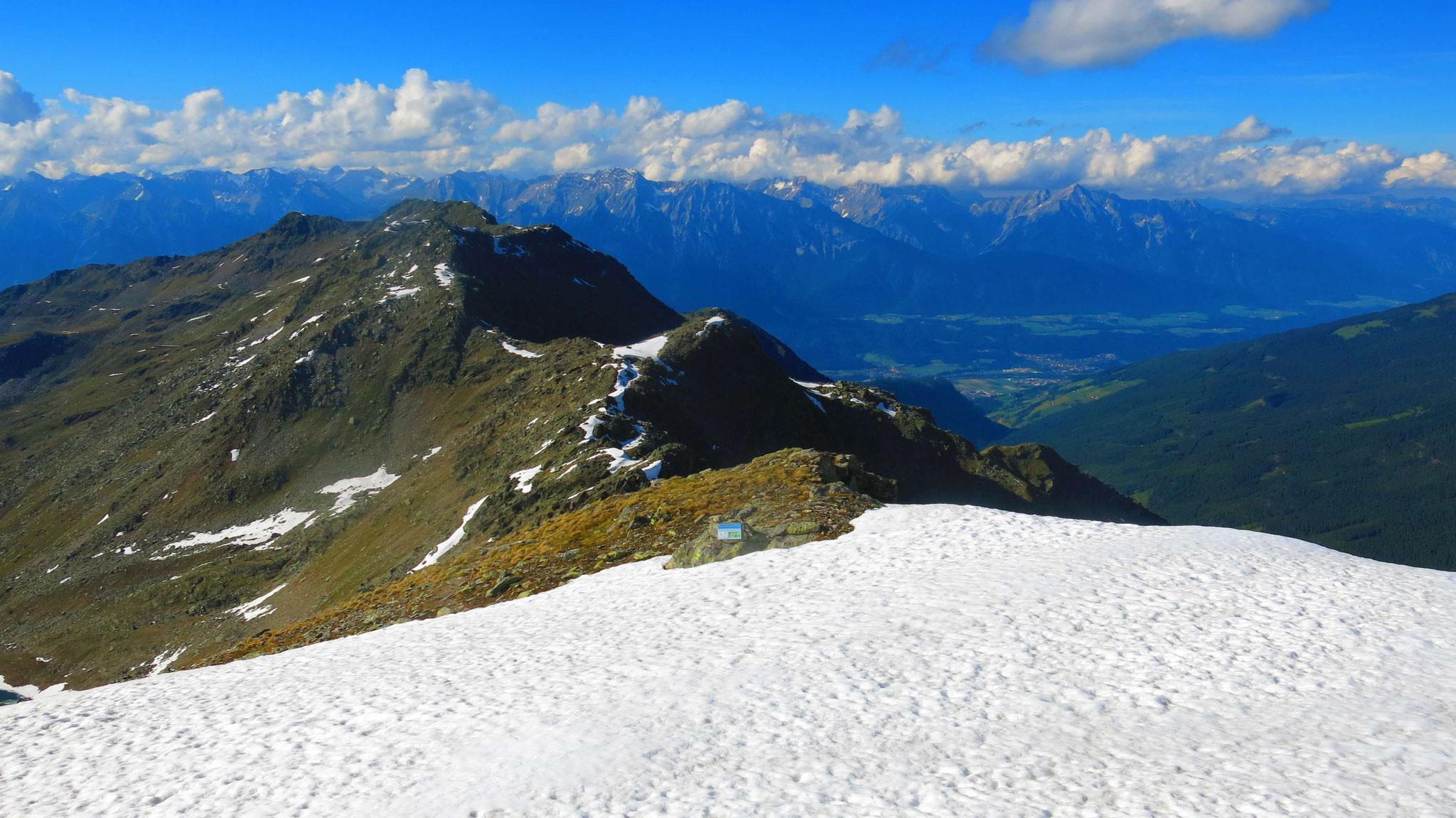 Nach Norden in Richtung Karwendel und Inntal