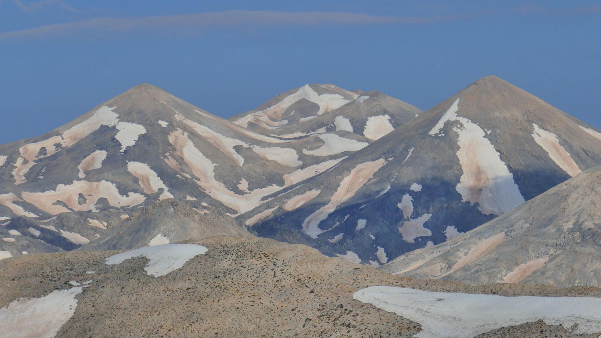Die etwas niedrigeren nördlichen Lefka Ori
