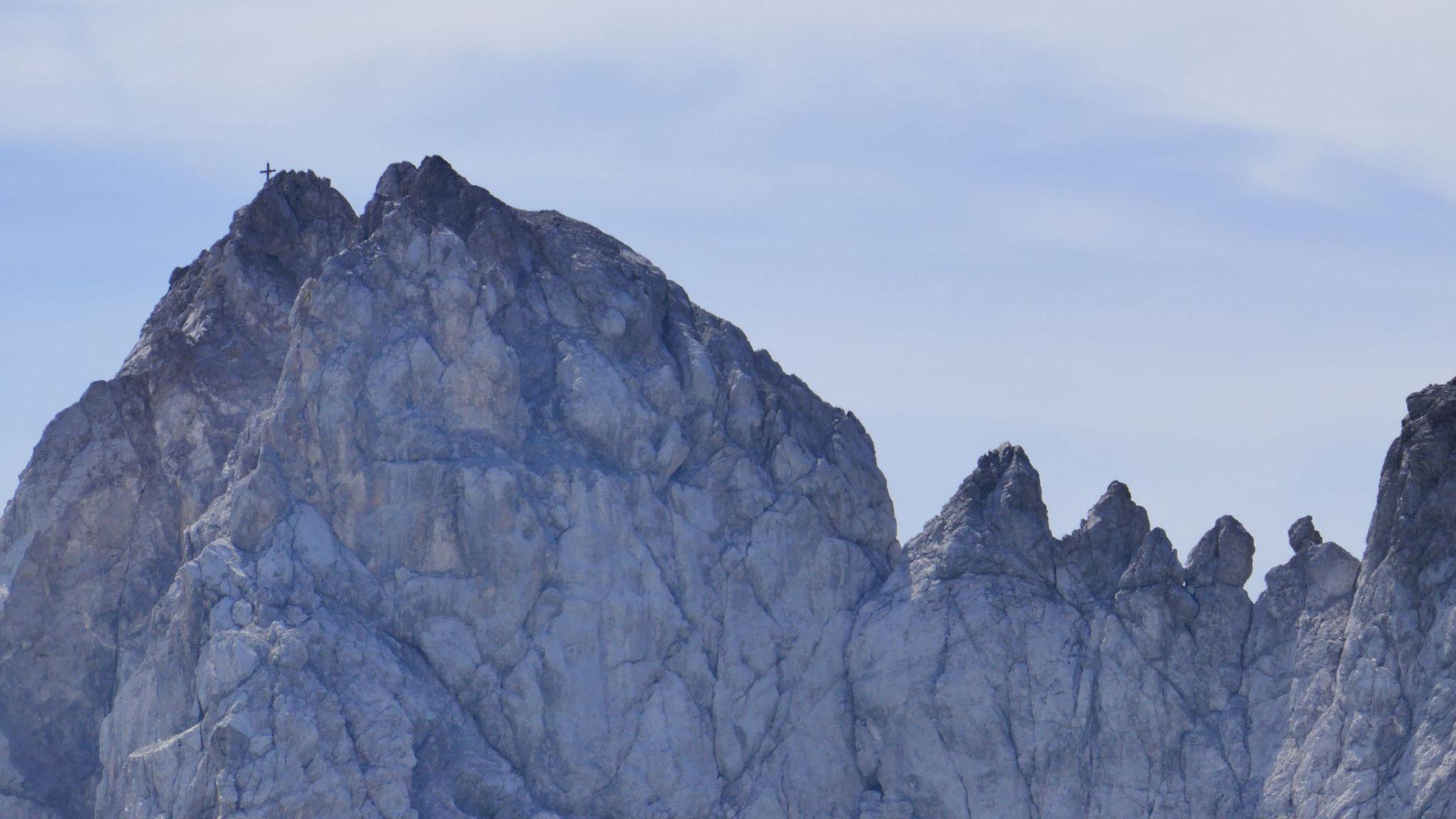 Grünstein-Gipfel und die vier Grattürme
