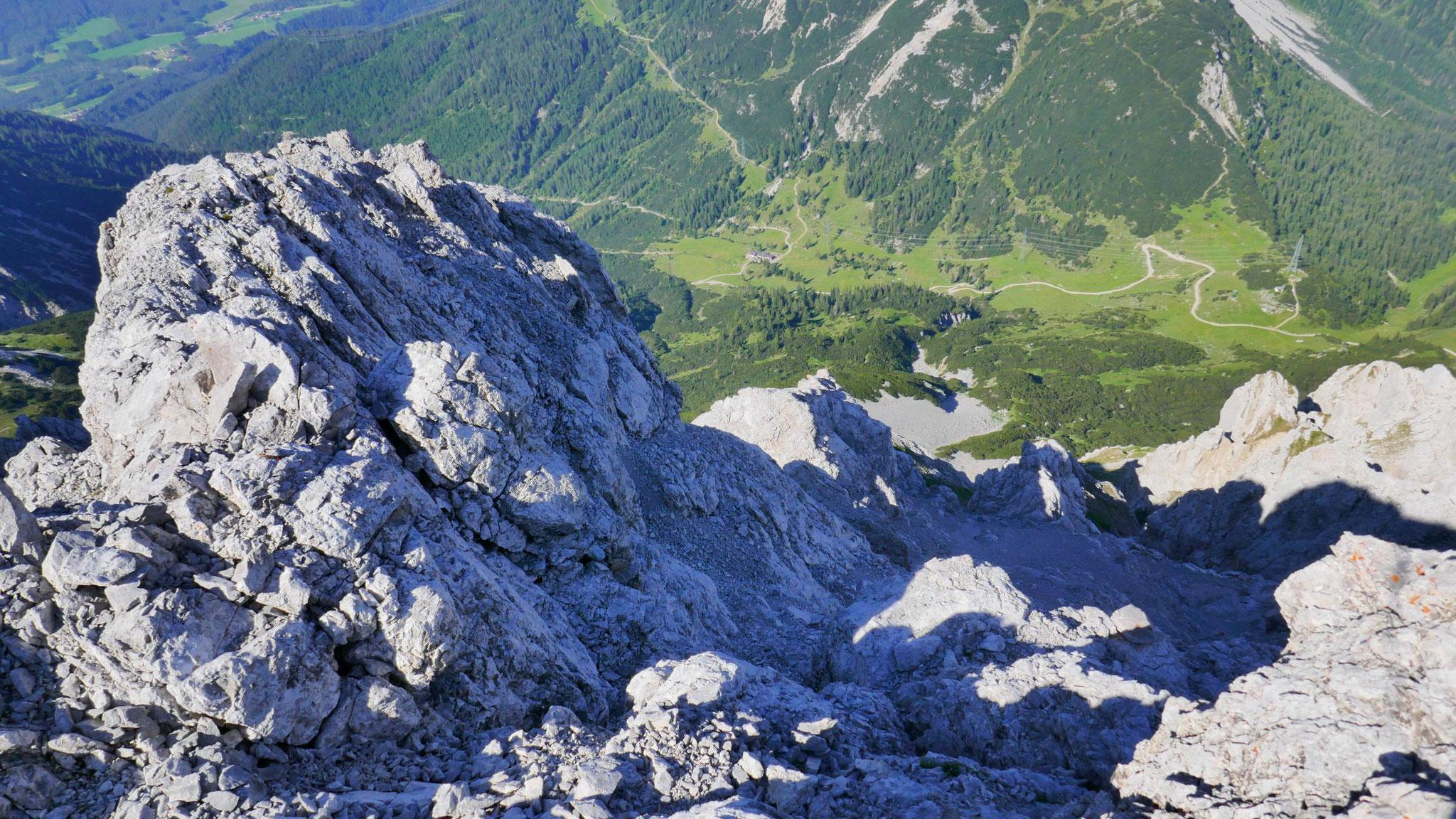 Über die Südwestwand zum Marienbergjoch