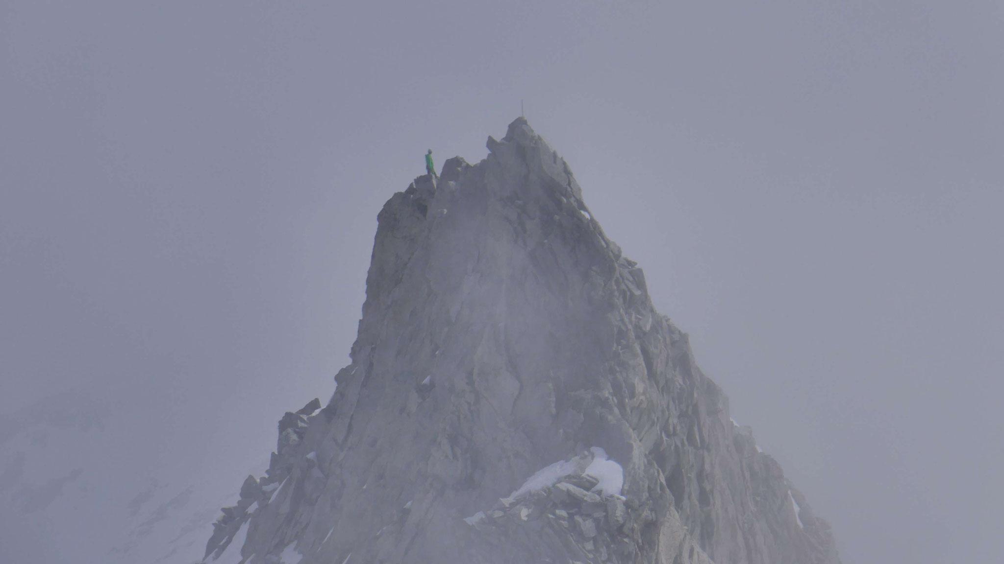 Bergsteiger auf dem Gabler