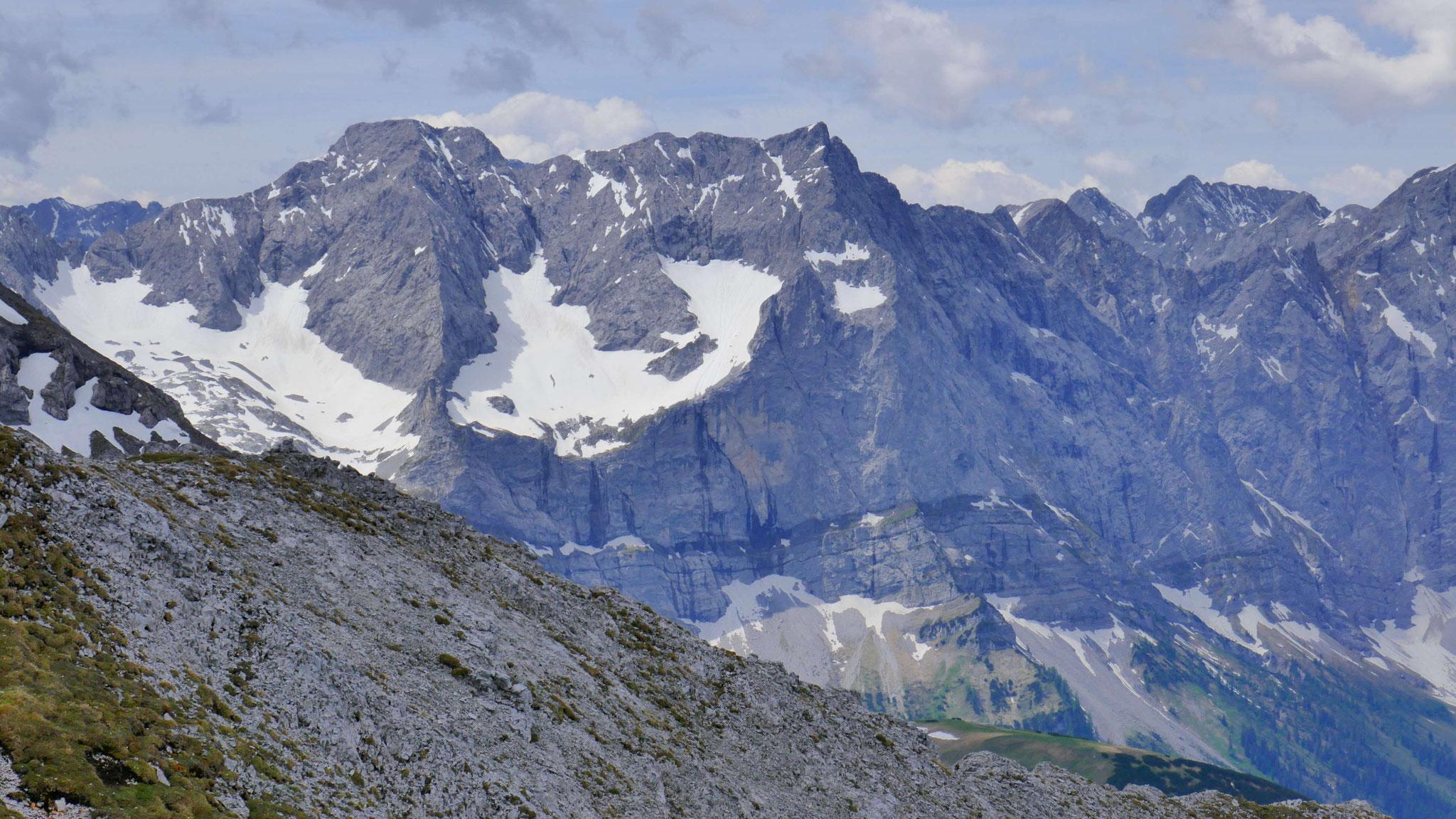 Eiskar- und Spritzkarspitze