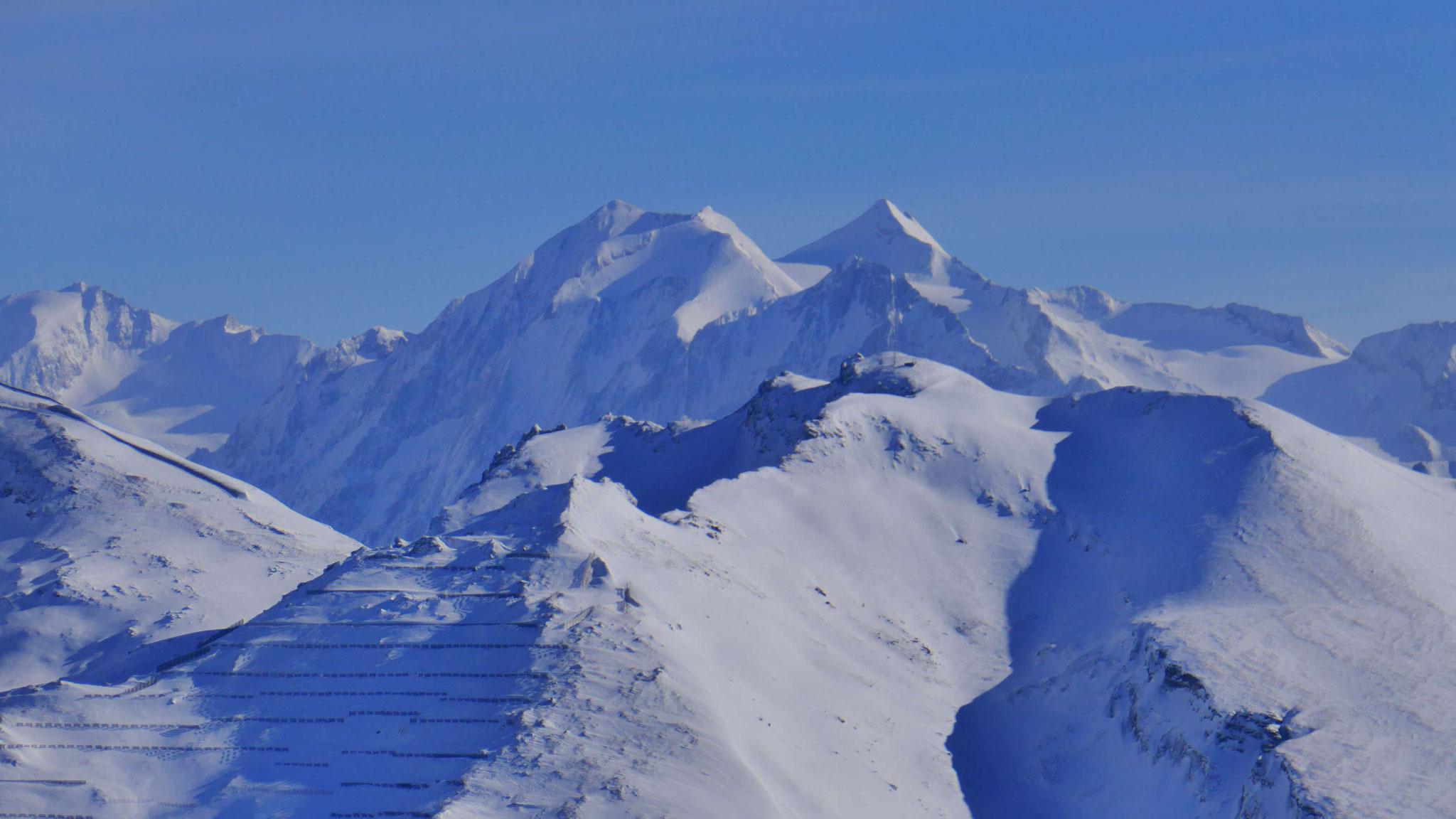 Hochfernerspitze (3.470m) und Hochfeiler (3.509m)