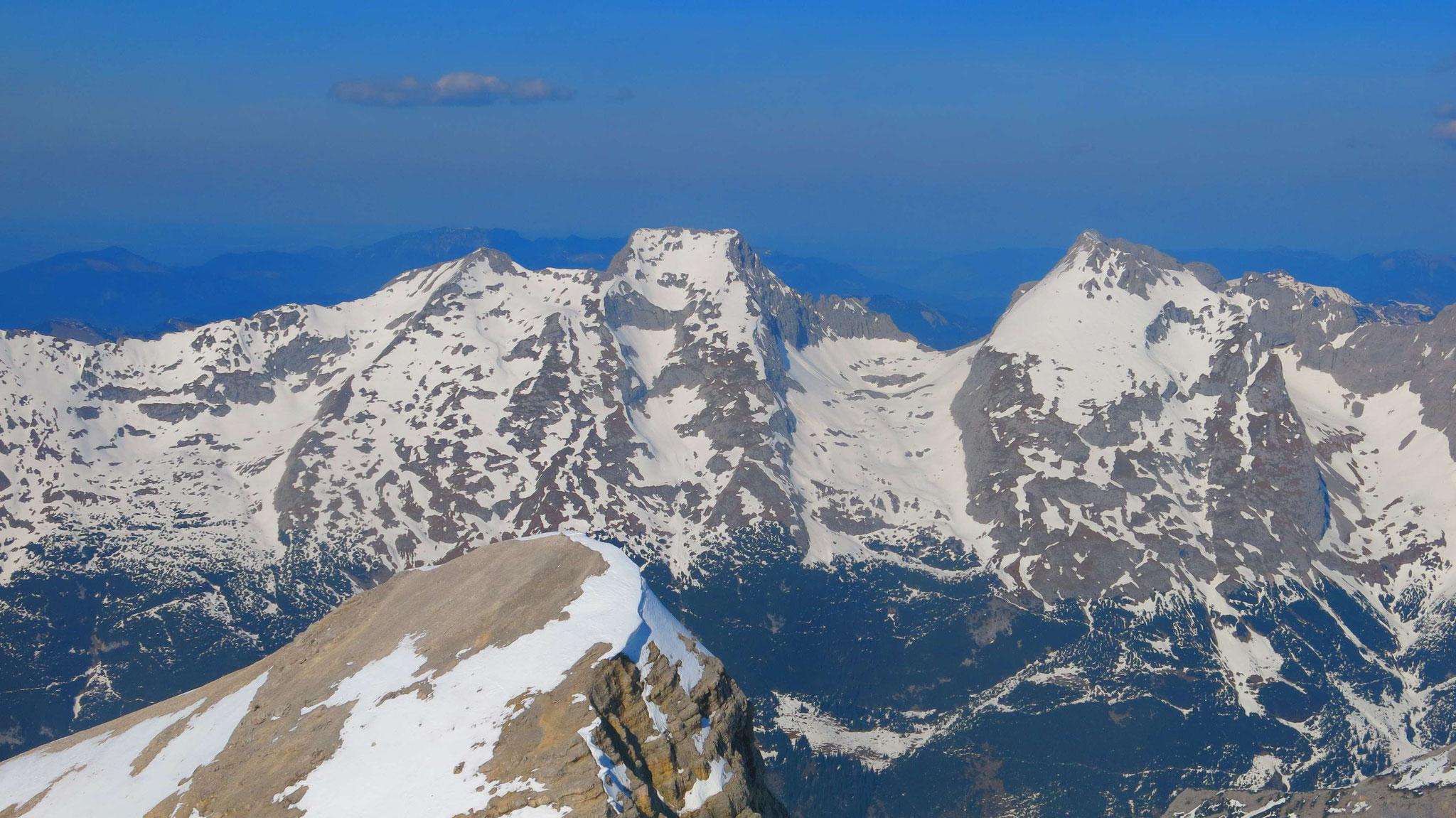 Vogelkarspitze und Östl. Karwendelspitze