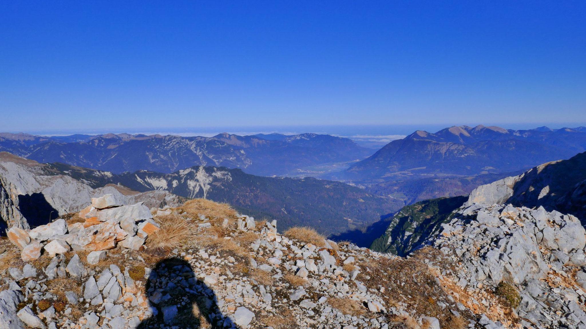 Hinaus nach Garmisch, Ammergauer Alpen und Estergebirge