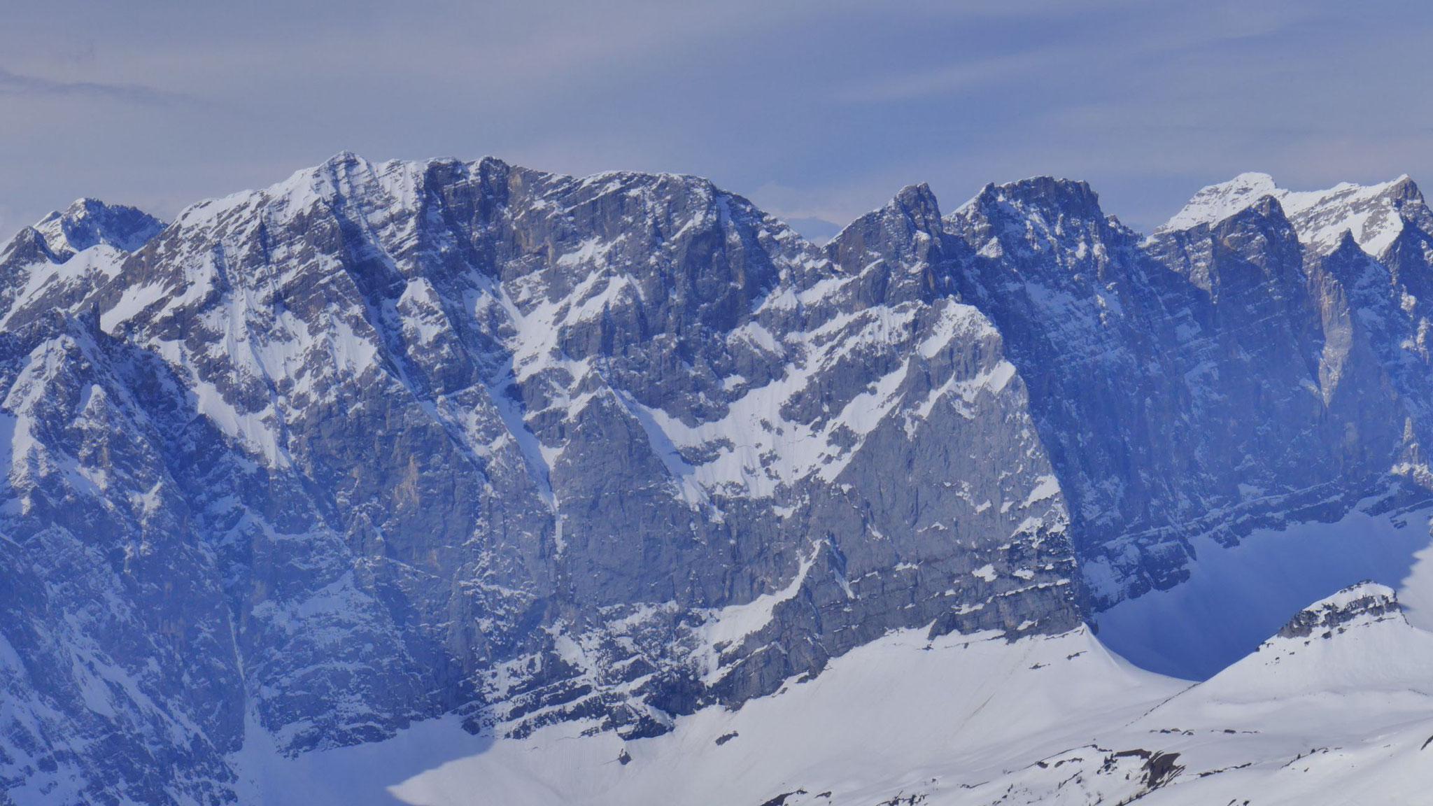 Grubenkarspitze und -pfeiler