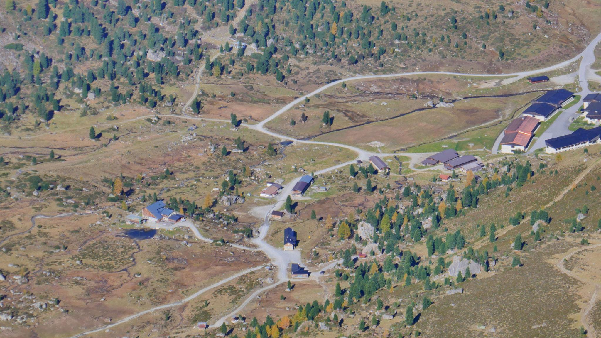 Lizumer Hütte und Hochlager Wattener Lizum