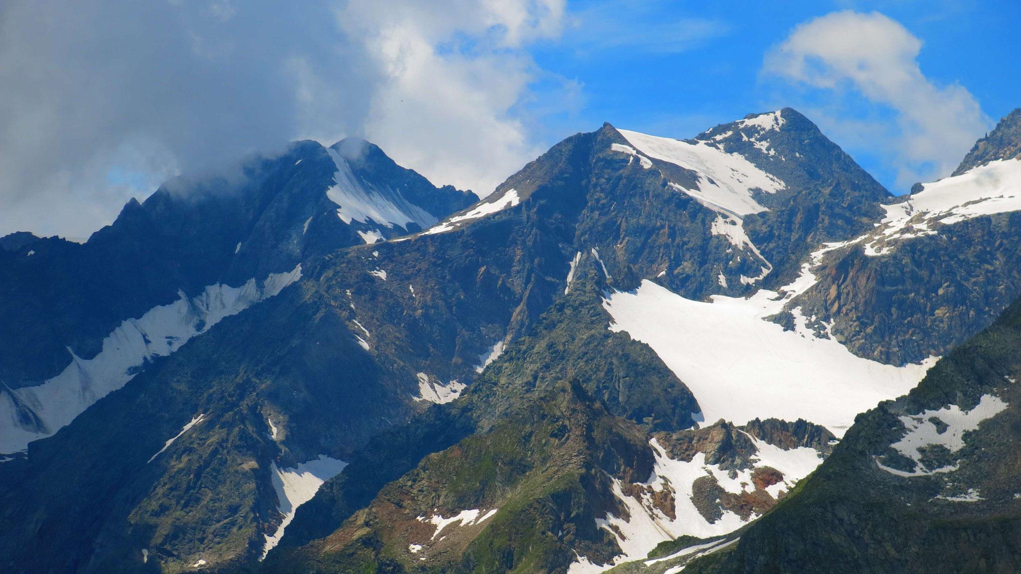 Ruderhofspitze und Östl. Seespitze