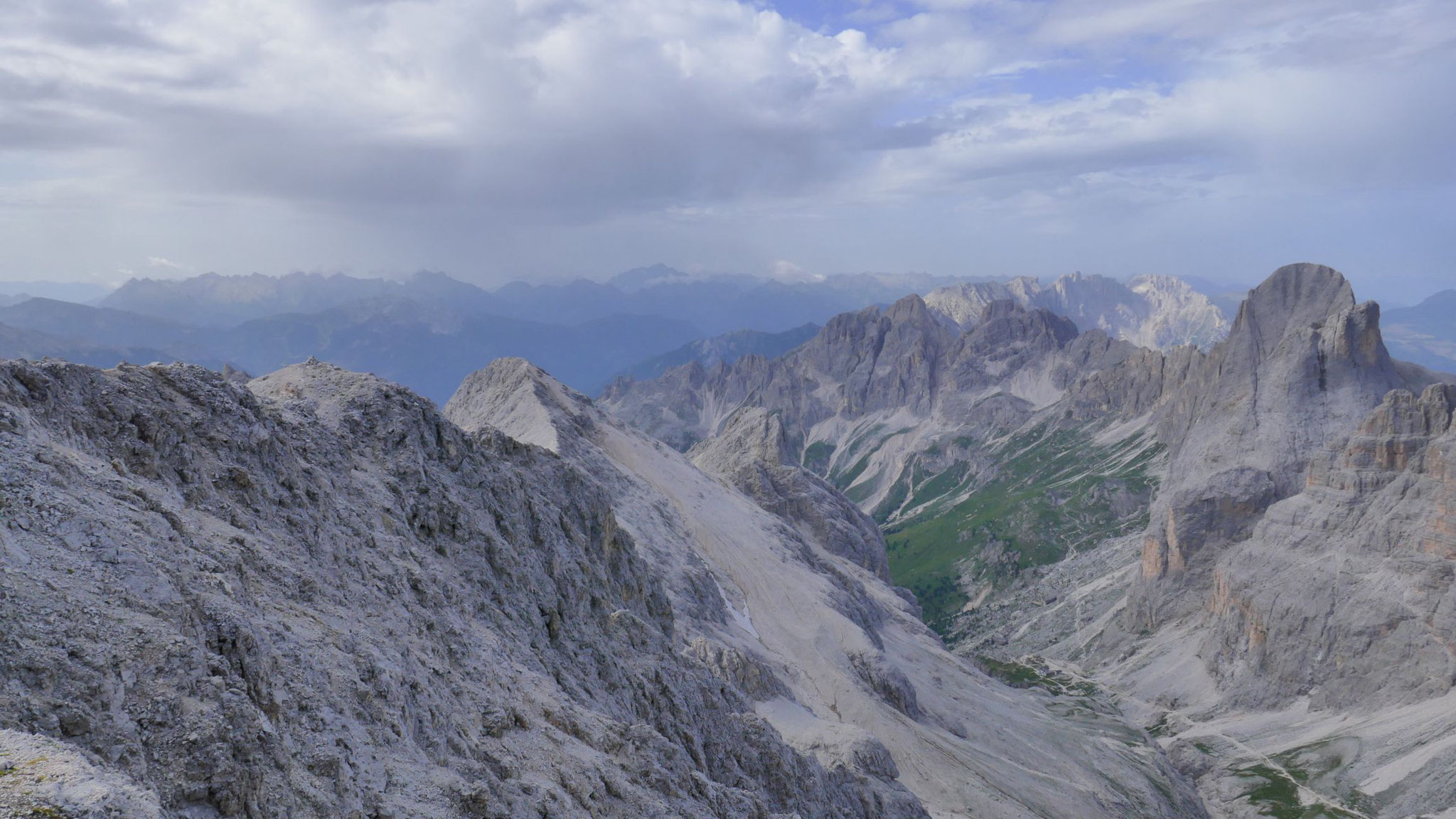 Val di Vaiolet und südlicher Rosengarten