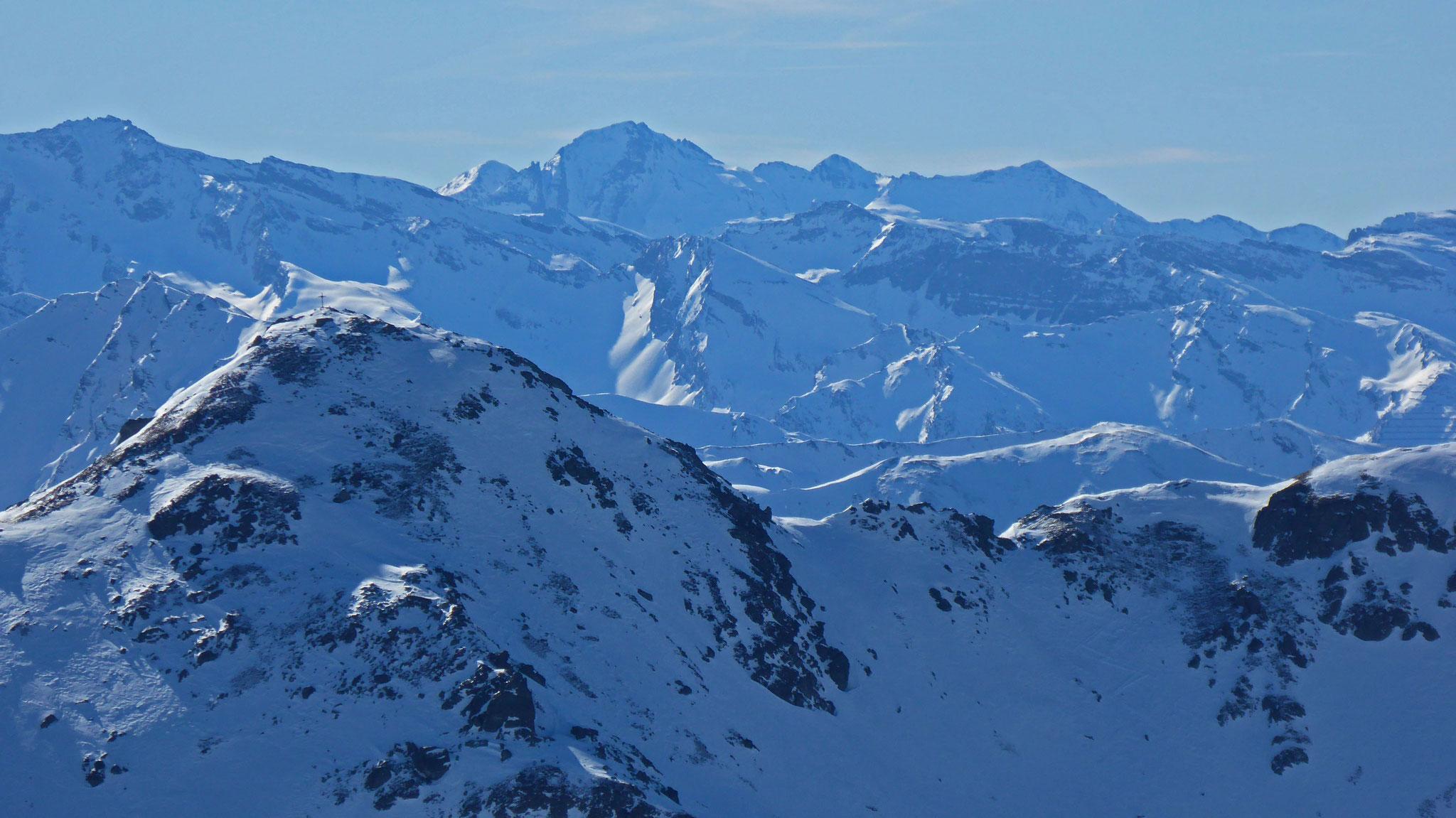 Seeblesspitze, dahinter Wilde Kreuzspitze