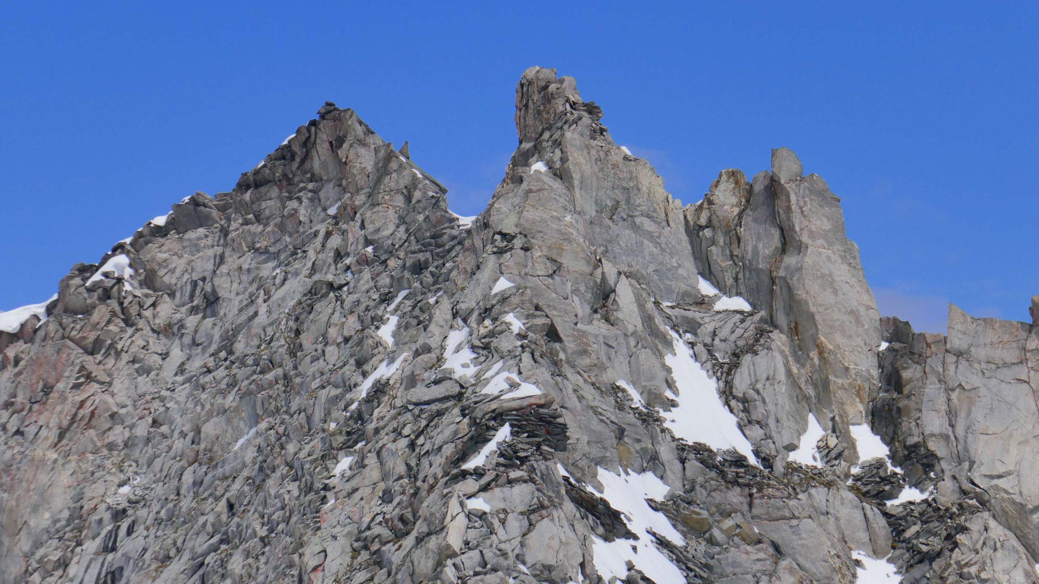 Gipfelaufbau Wildgerlosspitze