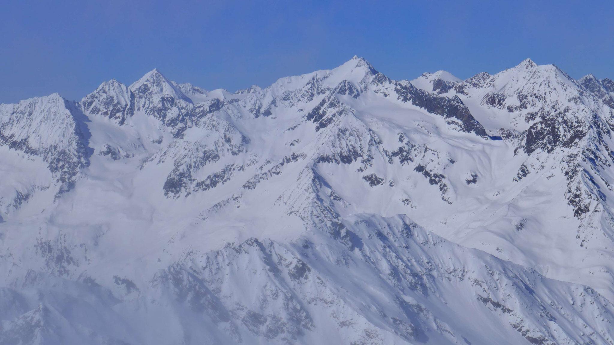 Schwarzenbergspitze - Ruderhofspitze - Östl Seespitze