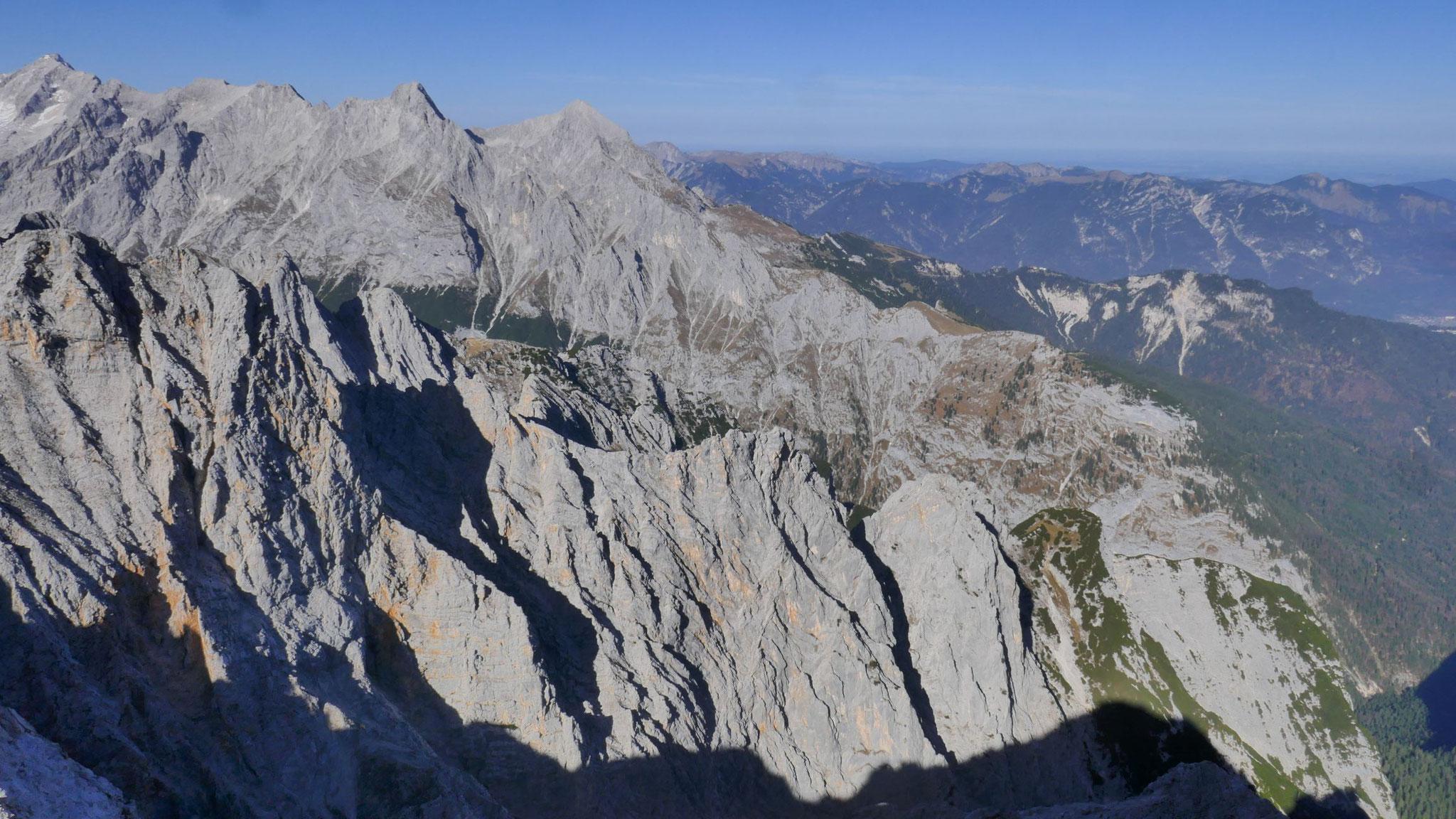 Hochblassen und Alpspitze im nördlichen Wetterstein