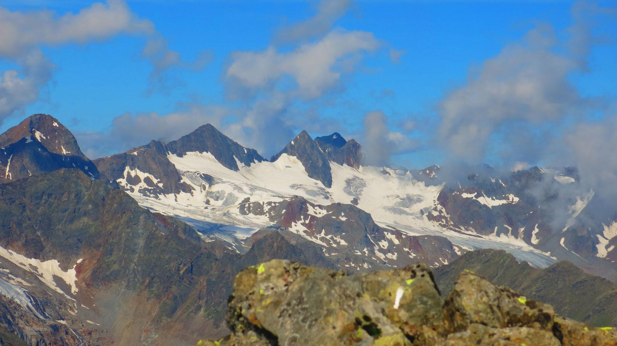 Schaufelspitze - Stubaier Wildspitze - Daunkögel