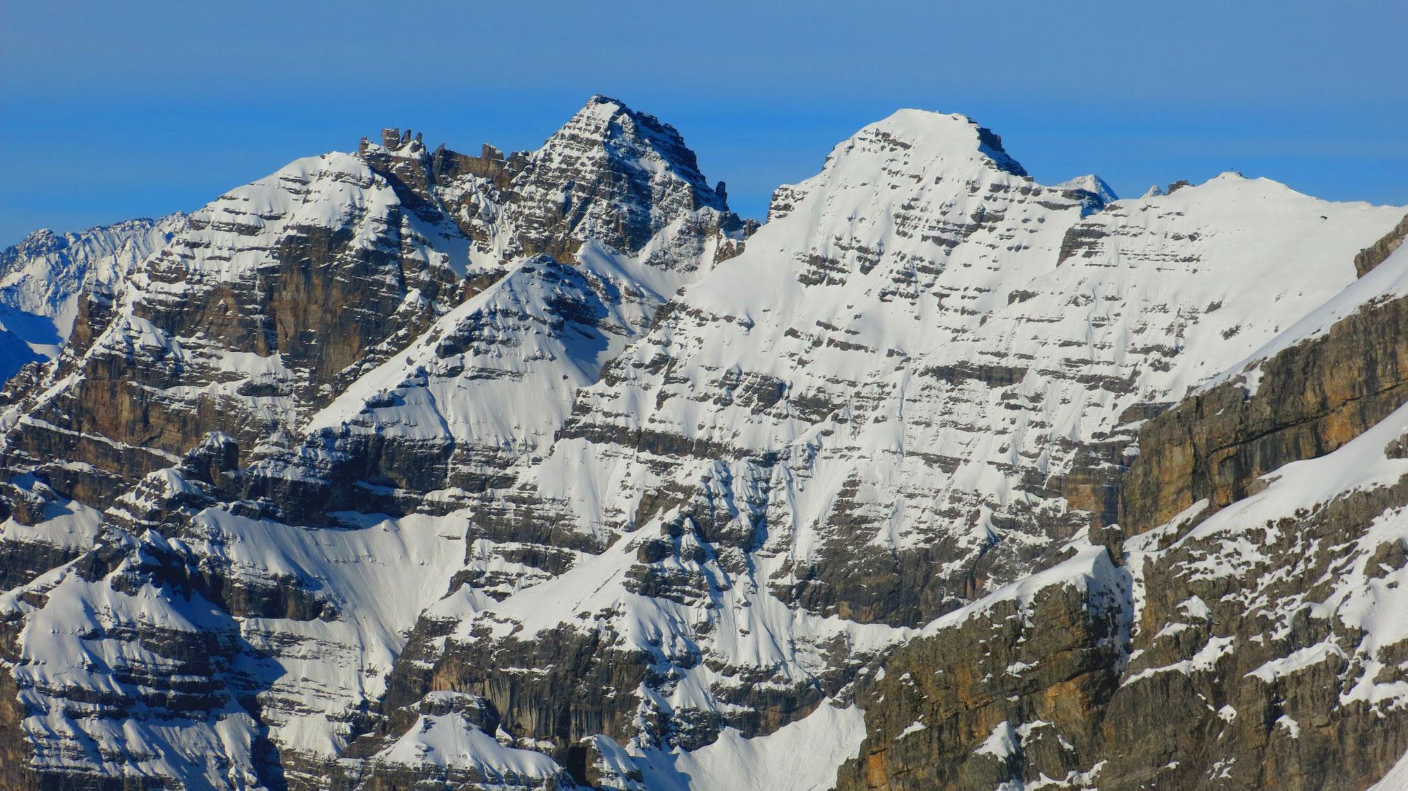 Schlicker Mandln & Seespitze, Riepenwand und Gr. Ochsenwand