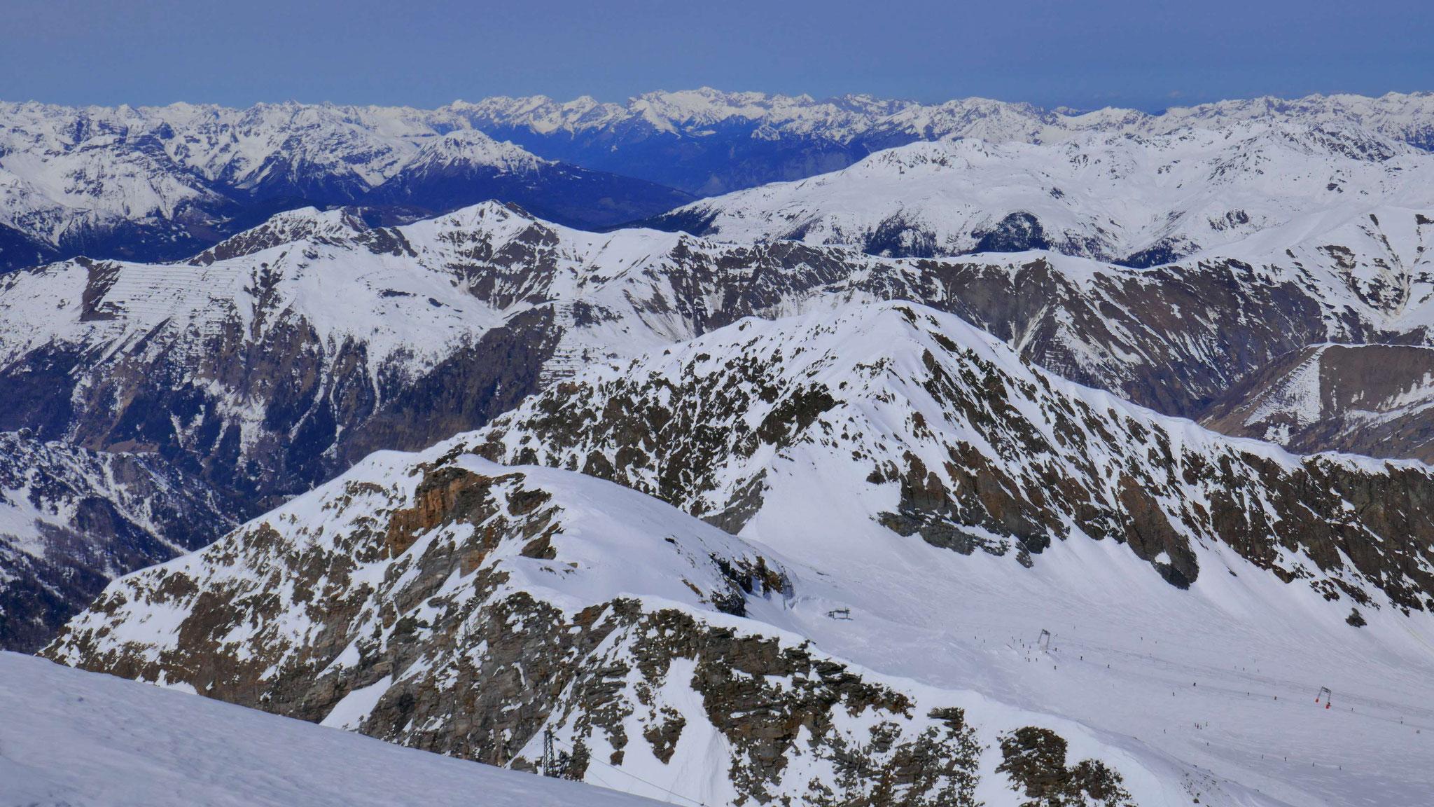 Über Kl. Kaserer in die Tuxer und Karwendel