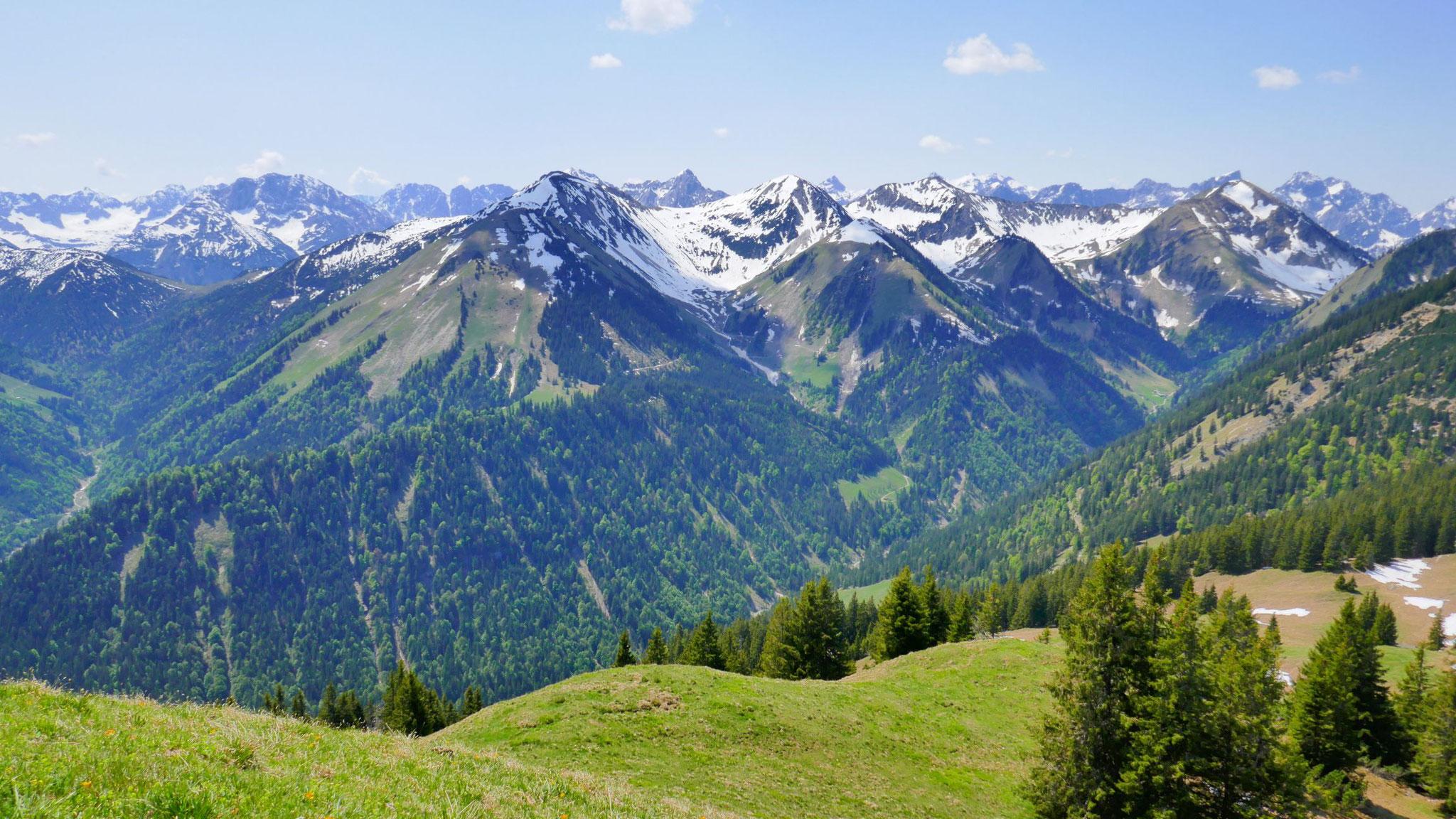 Karwendel-Vorberge im Süden