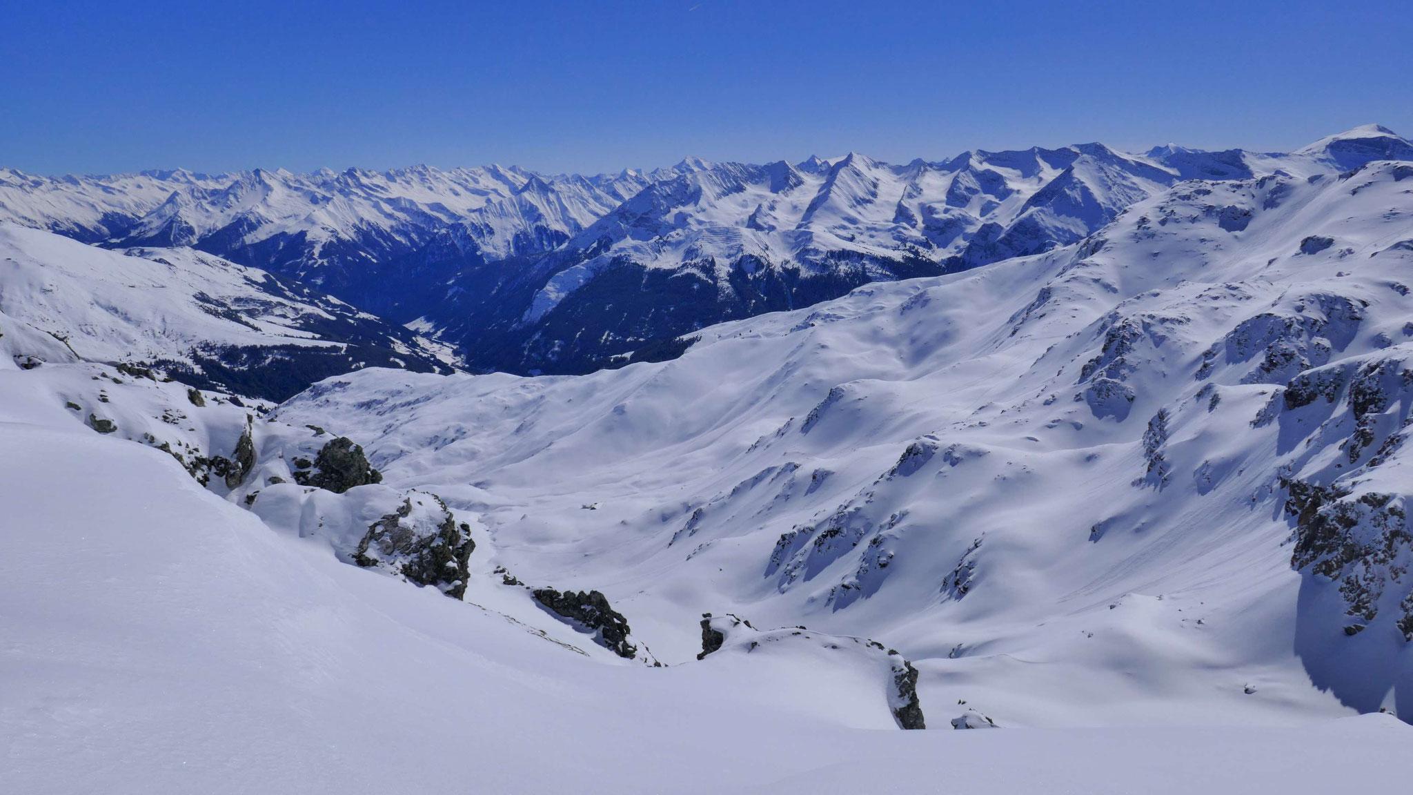 Über die Vallruckalm Richtung Zillertal