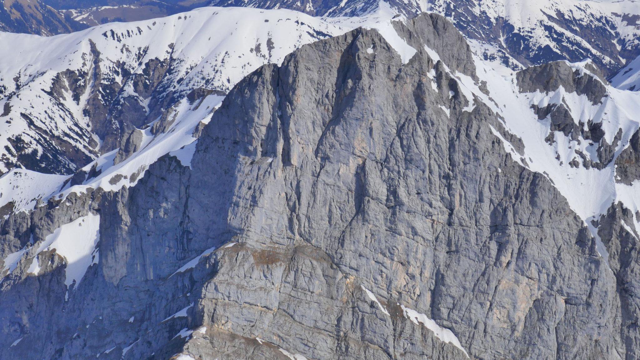Schaufelspitze Südwand