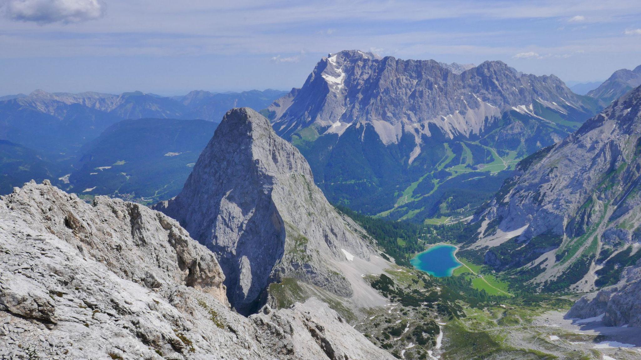Sonnen- und Zugspitze