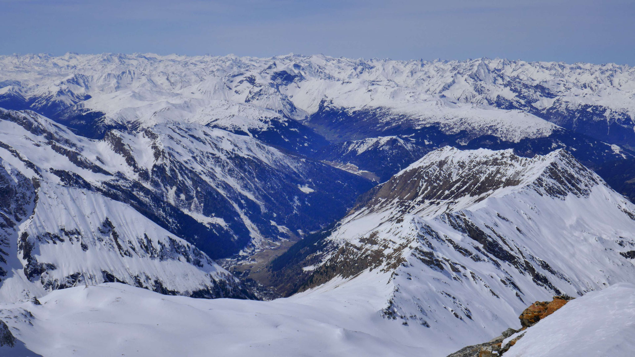In die Stubaier Alpen
