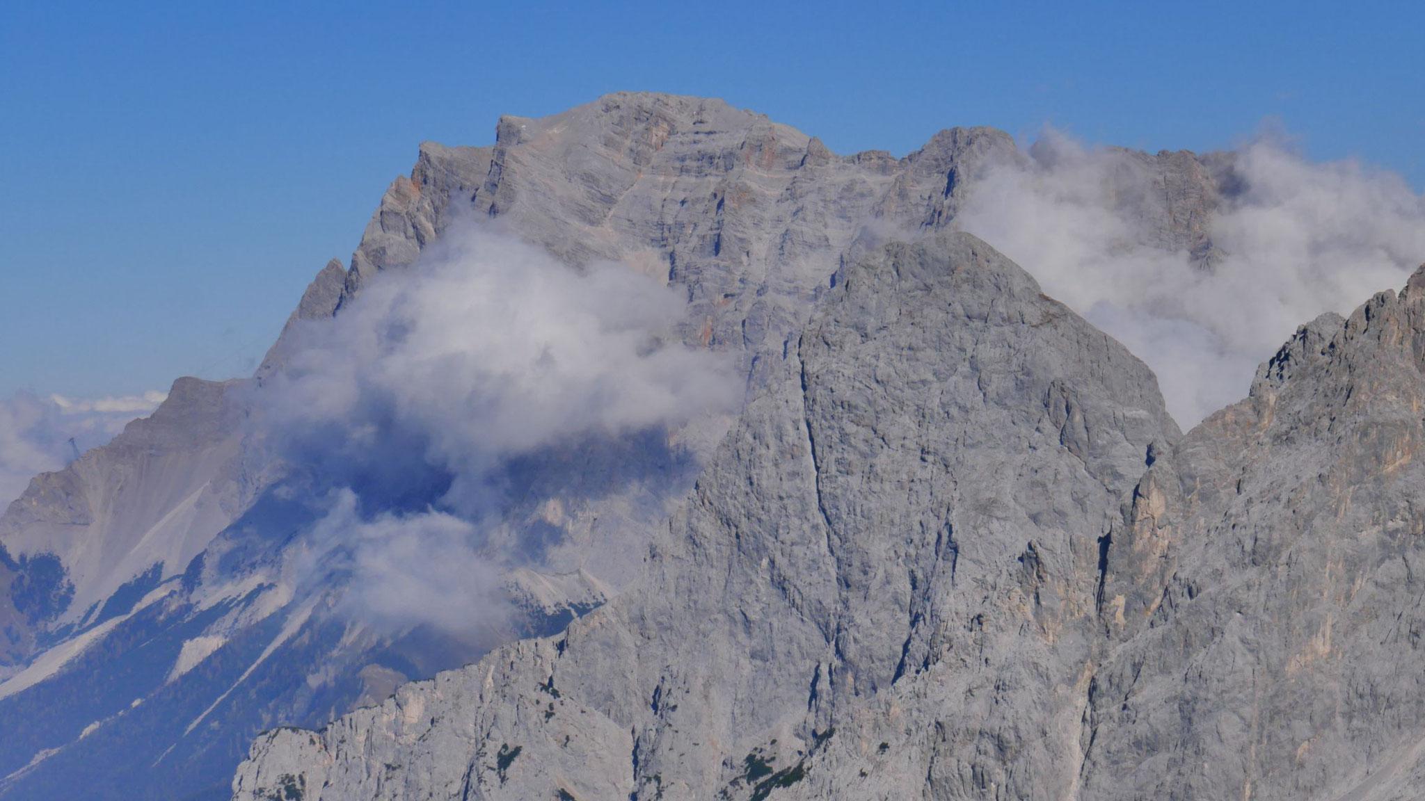 Zugspitze und Ehrwalder Sonnenspitze