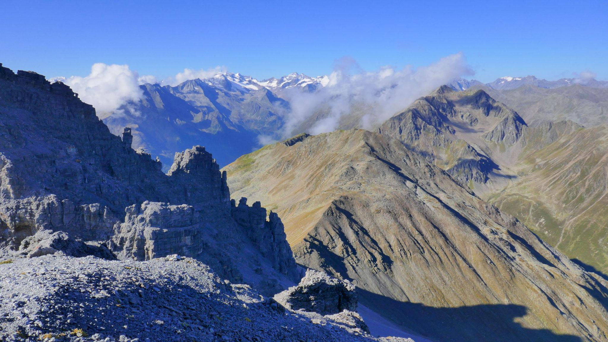 Über Gamskogel und Schwarzhorn in die Alpeiner Berge
