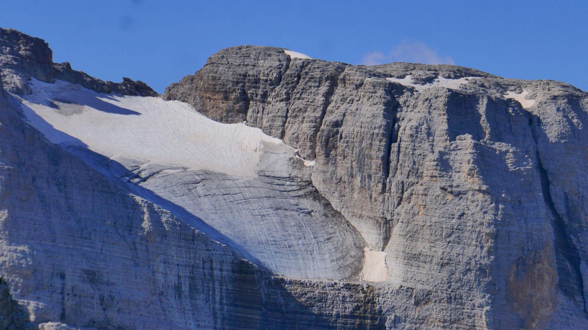 Gletscher an der Cima Brenta