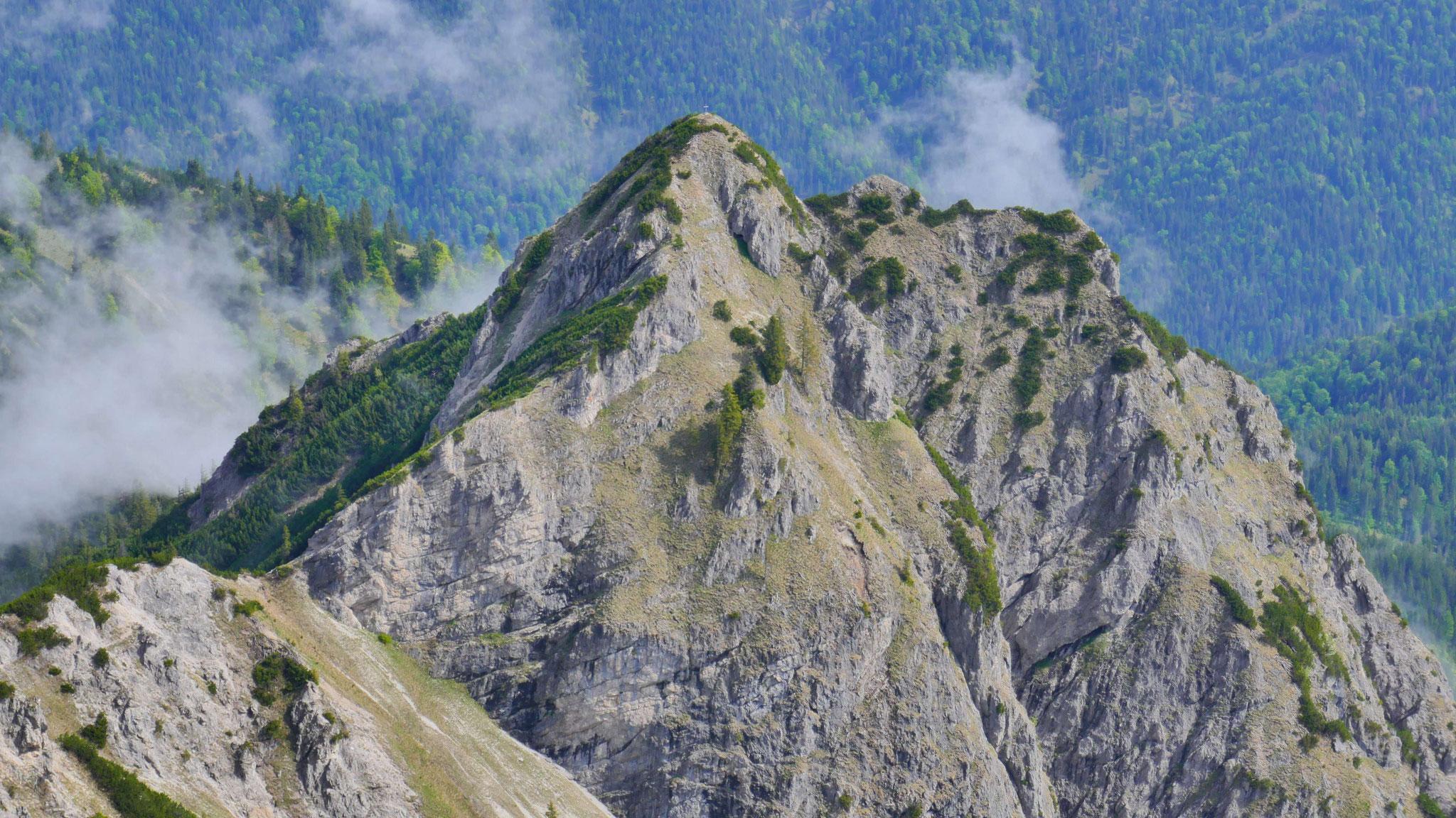 Rotkogel über dem Schinderkar