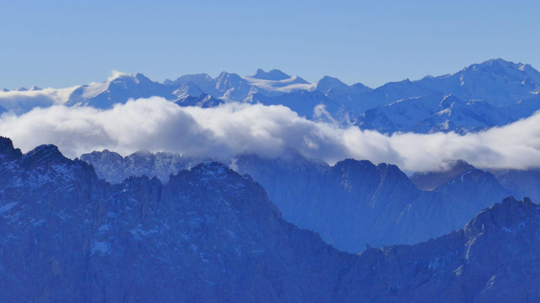 Über das südliche Karwendel zu den Stubaier Riesen