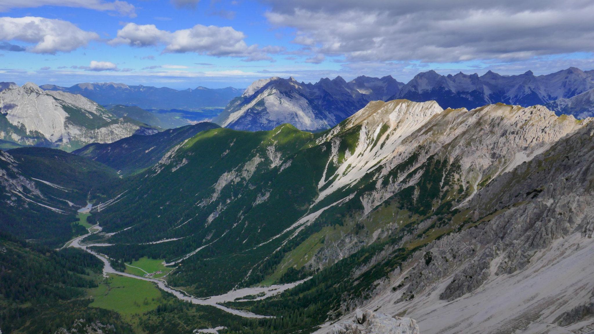 Eppzirler Alm und Nördliche Karwendelkette