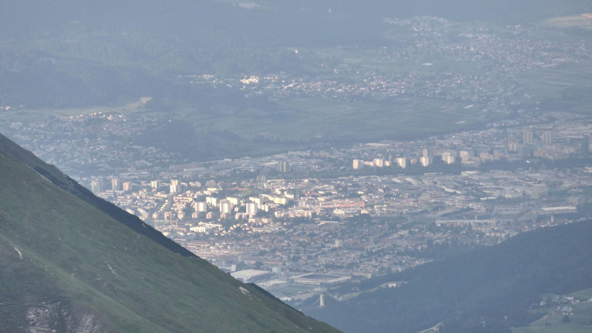 Innsbruck mit Olympischem Dorf