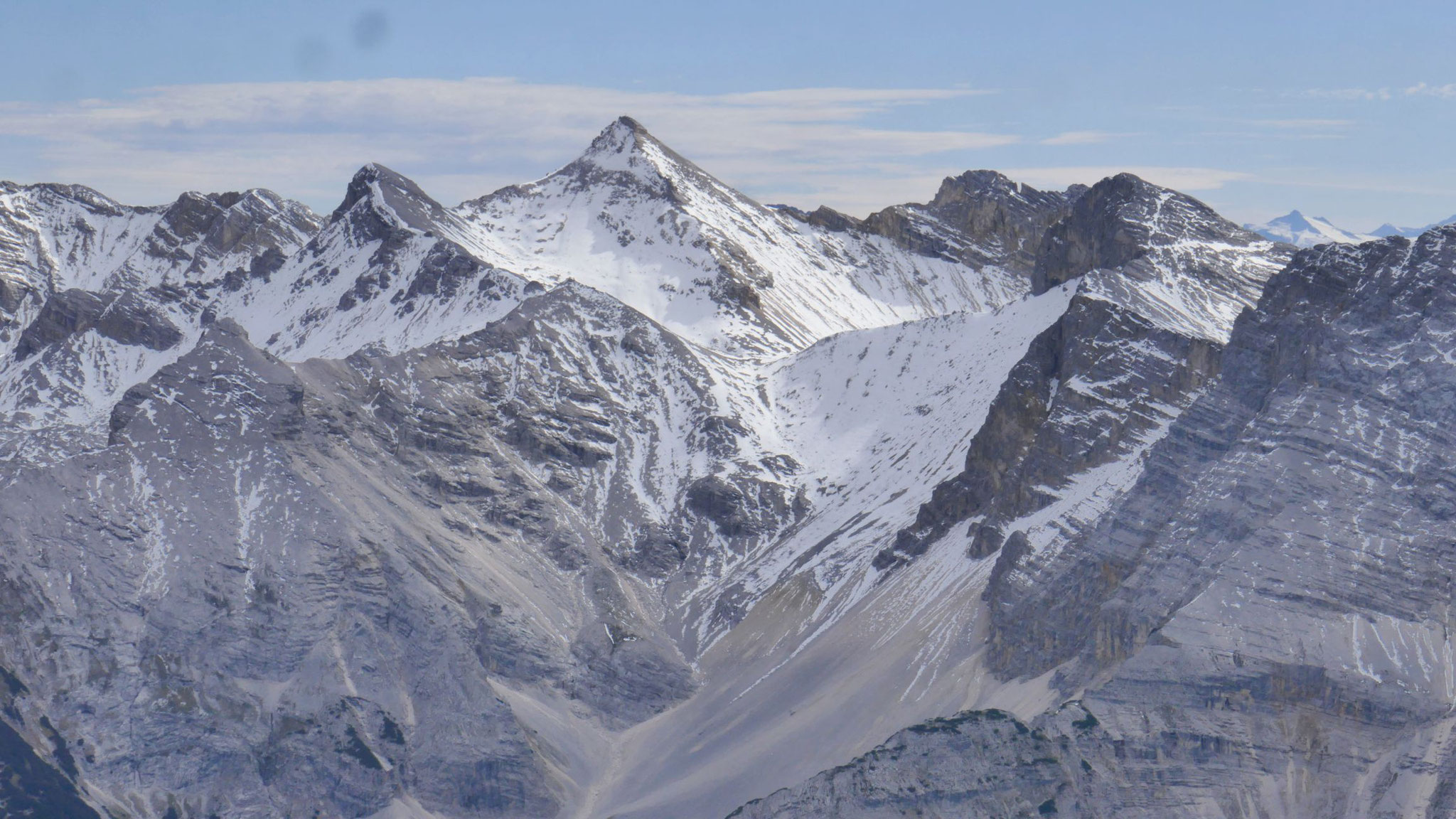 Gr. Seekarspitze mit Neunerkar
