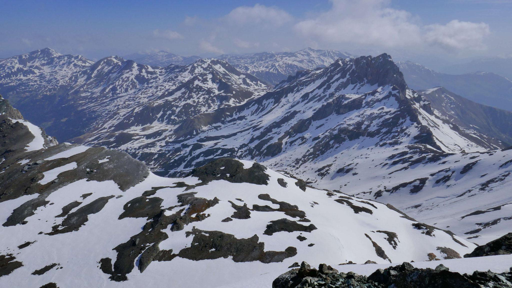 Hintere Wattentaler Lizum mit Kalkwand - Torspitze - Hippoldspitze - Hirzer