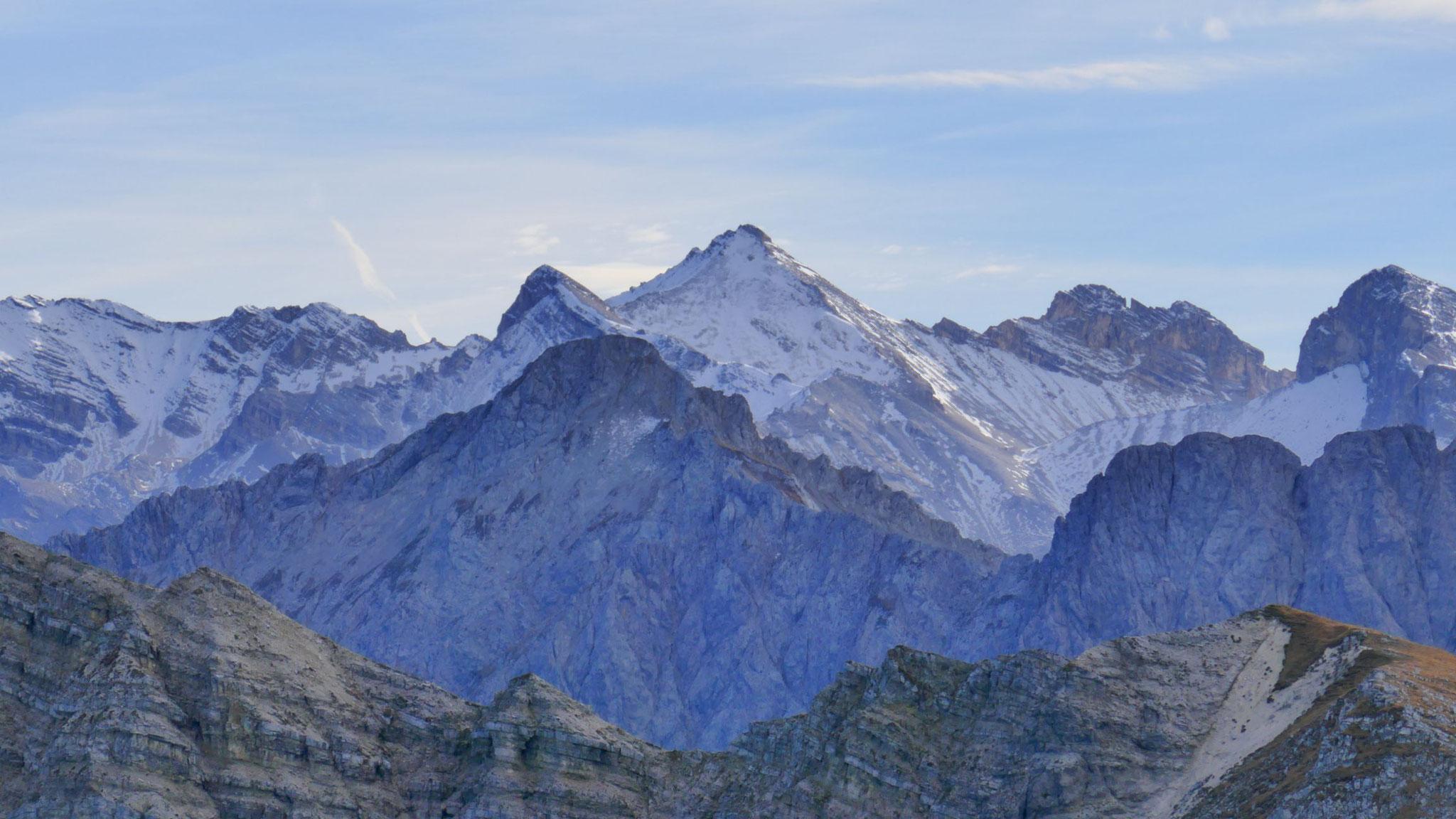 Raffelspitze vor Gr. Seekarspitze