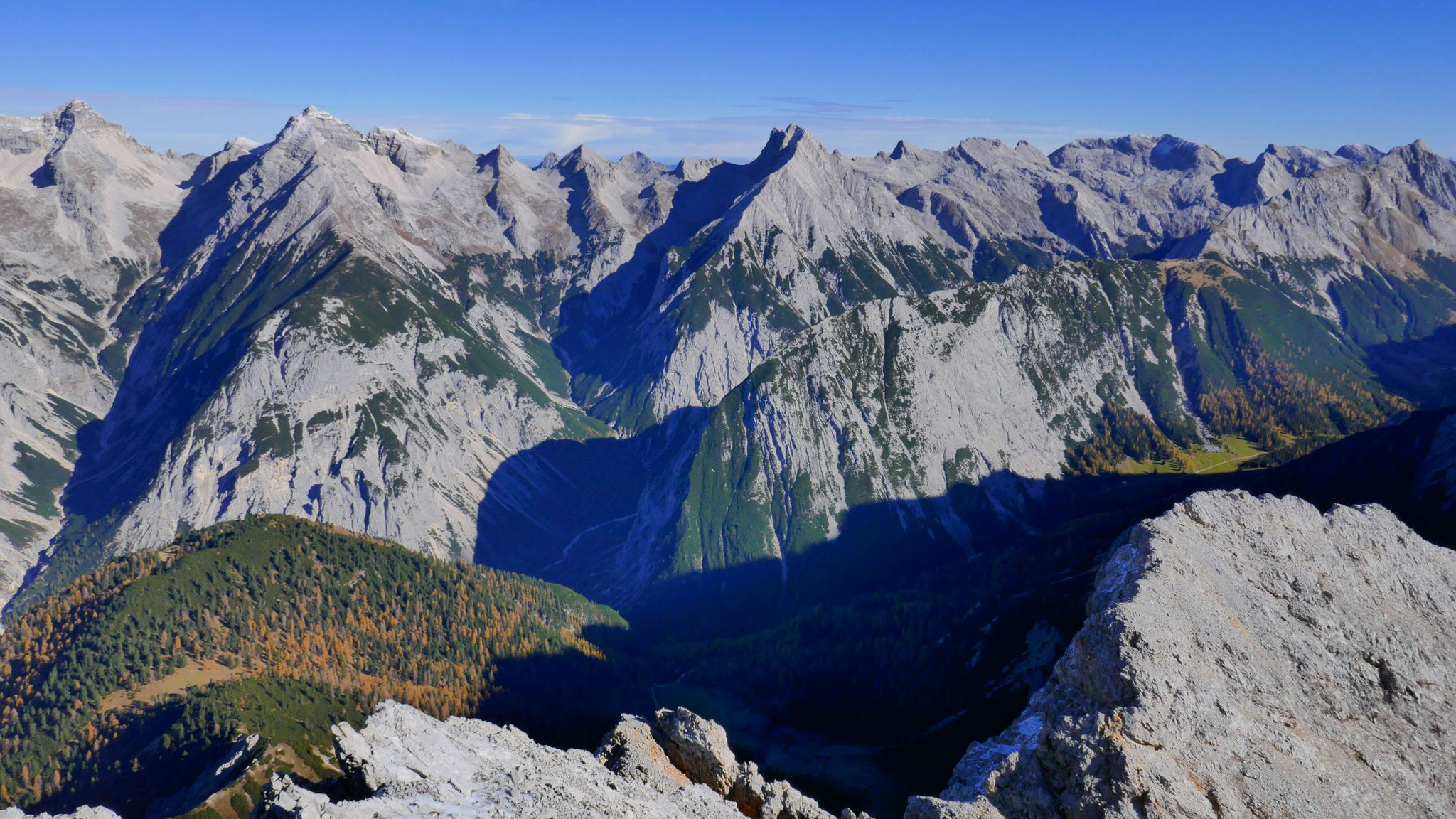 Gipfel rund um das Rossloch