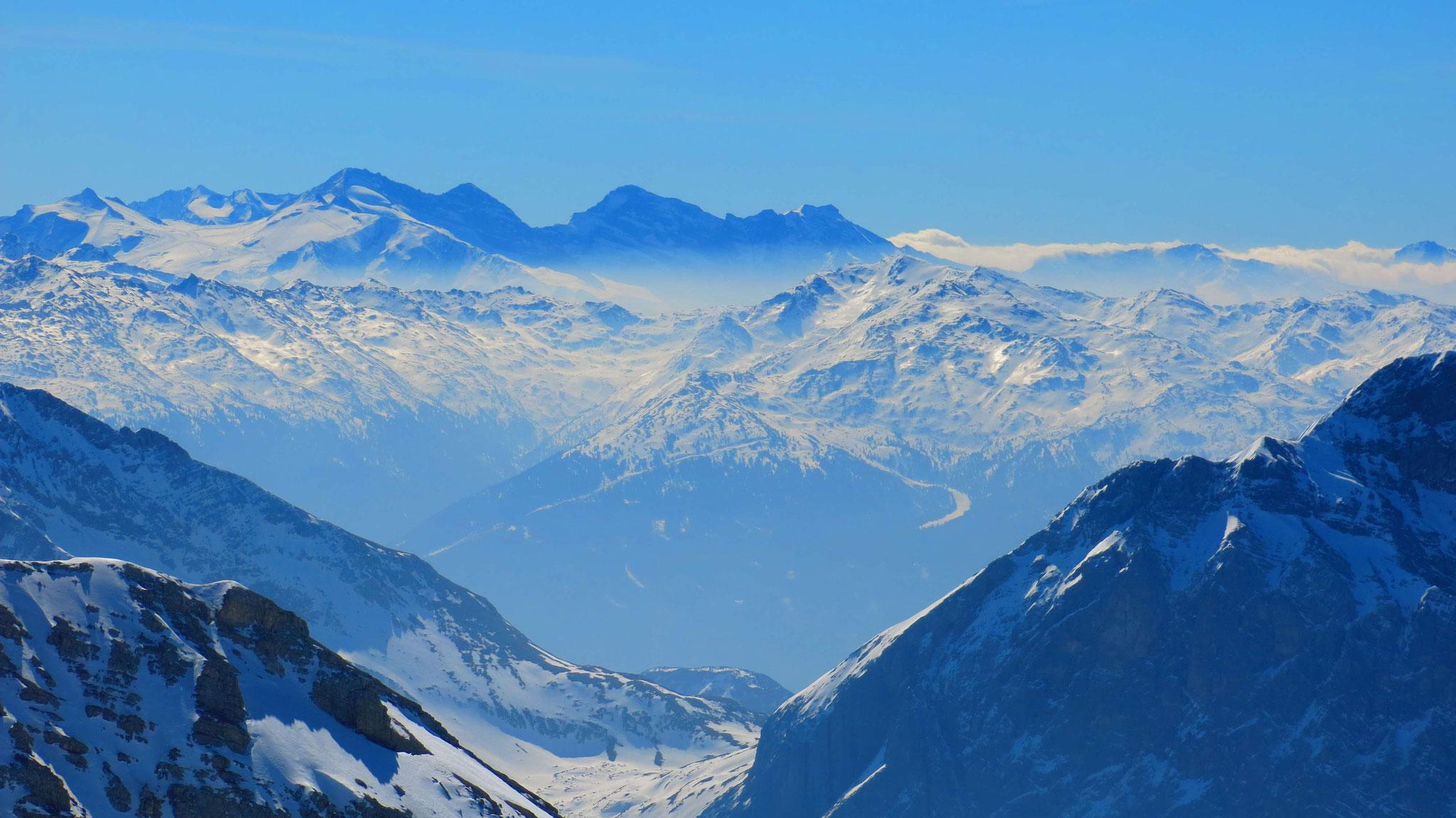 Über Lafatscher Joch in die Tuxer und Zillertaler Alpen