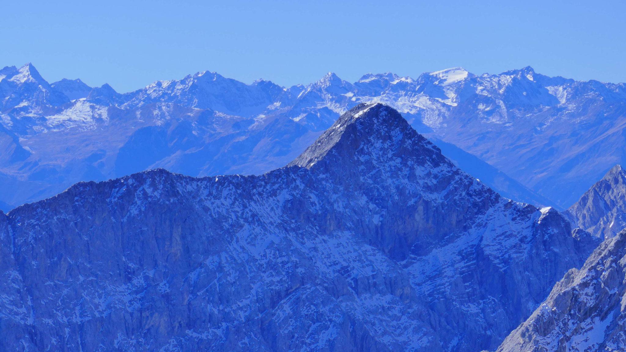 Stubaier Alpen hinter der Speckkarspitze