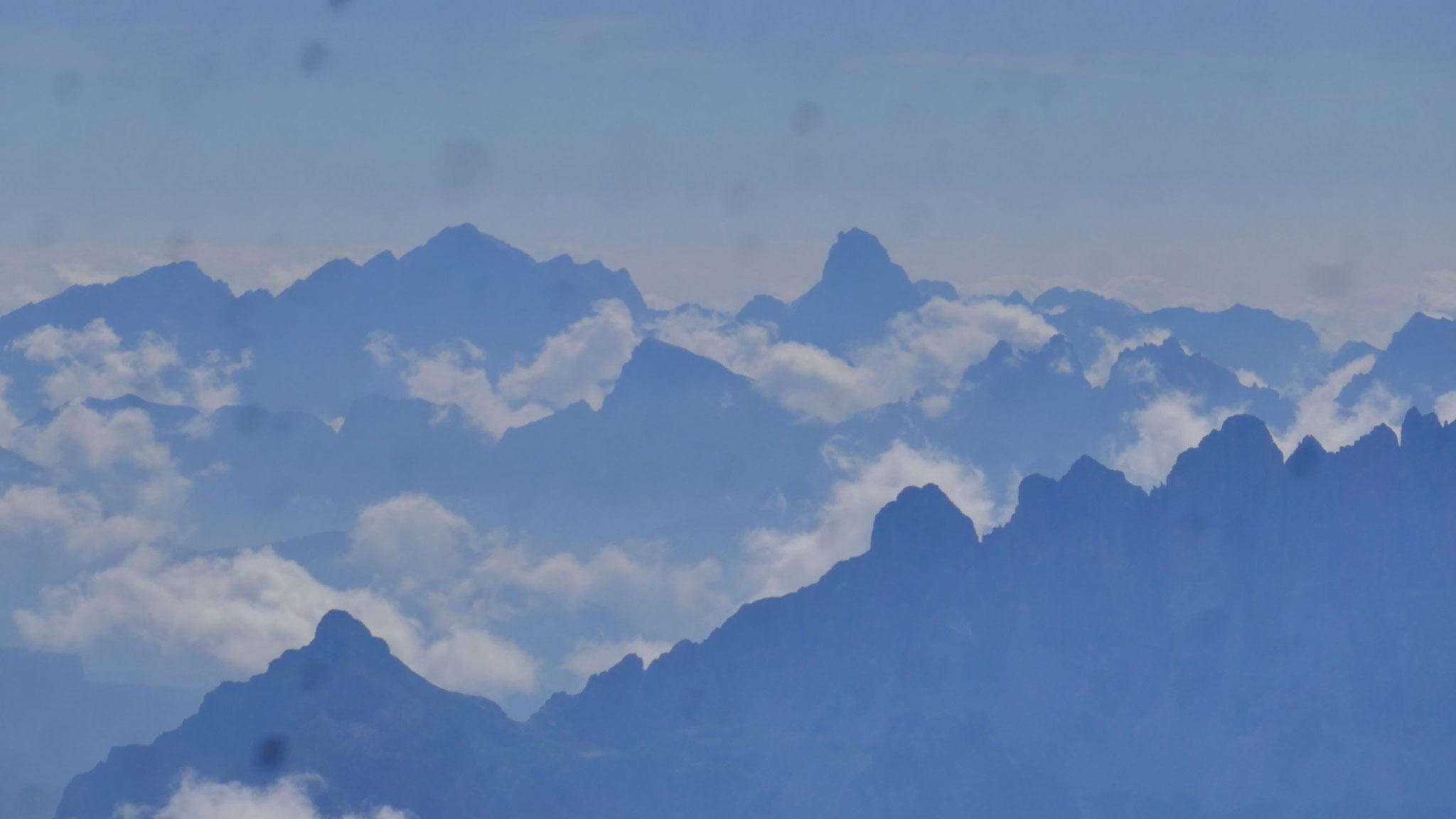 Cima dei Preti und Monte Duranno in den Friauler Dolomiten bzw. Südlichen Karnischen Alpen