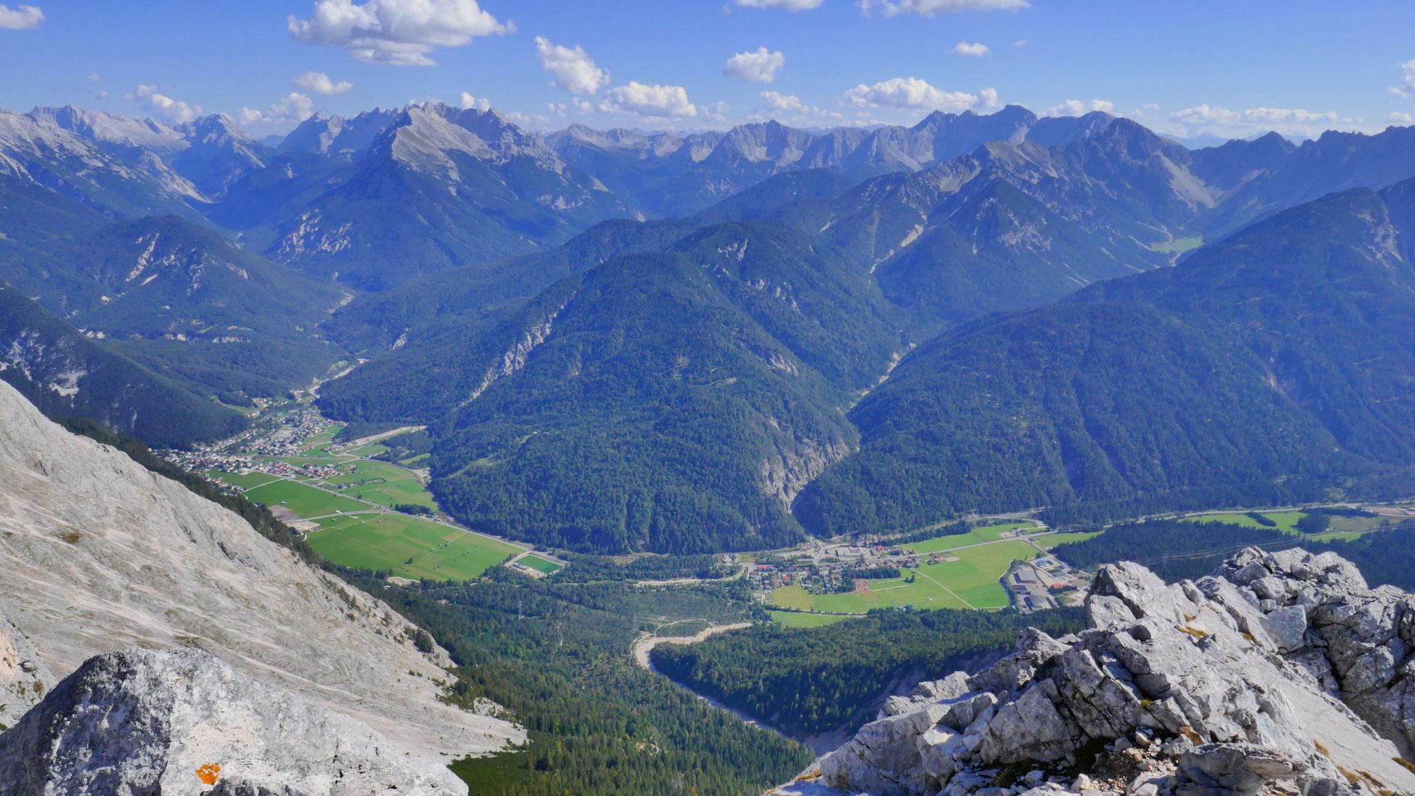 Über Scharnitz und Gießenbach hinein ins Karwendel
