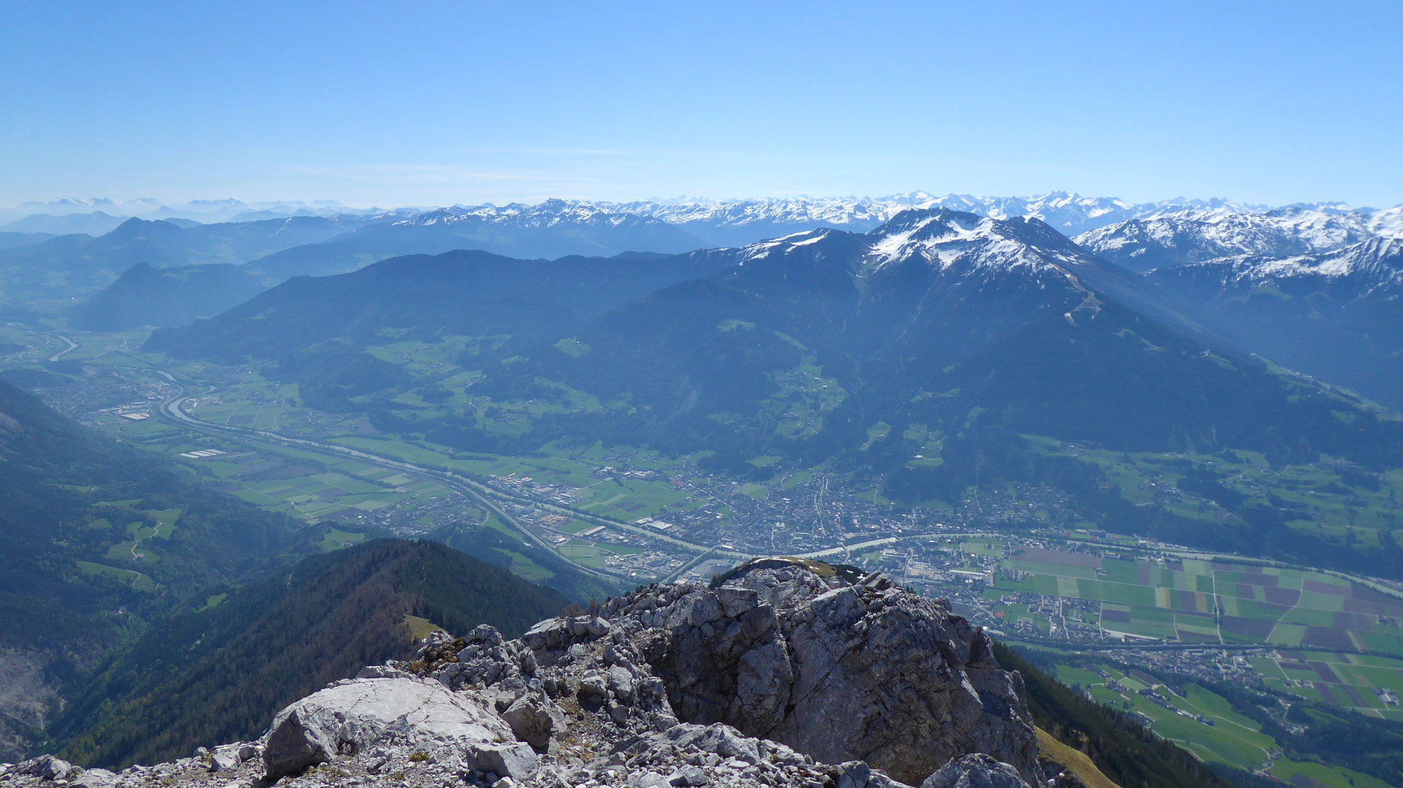 Schwaz - Kellerjoch - Kitzbüheler & Zillertaler Alpen