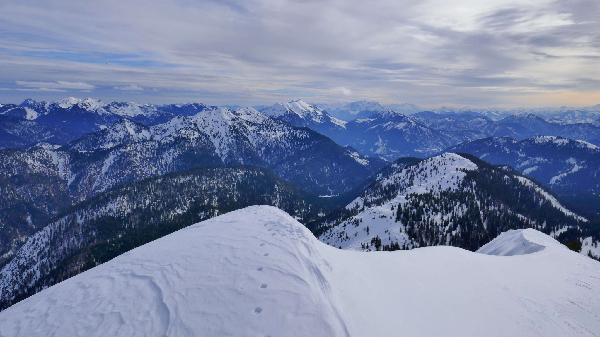 Nach Osten über Brandenberger Alpen bis zum Kaiser