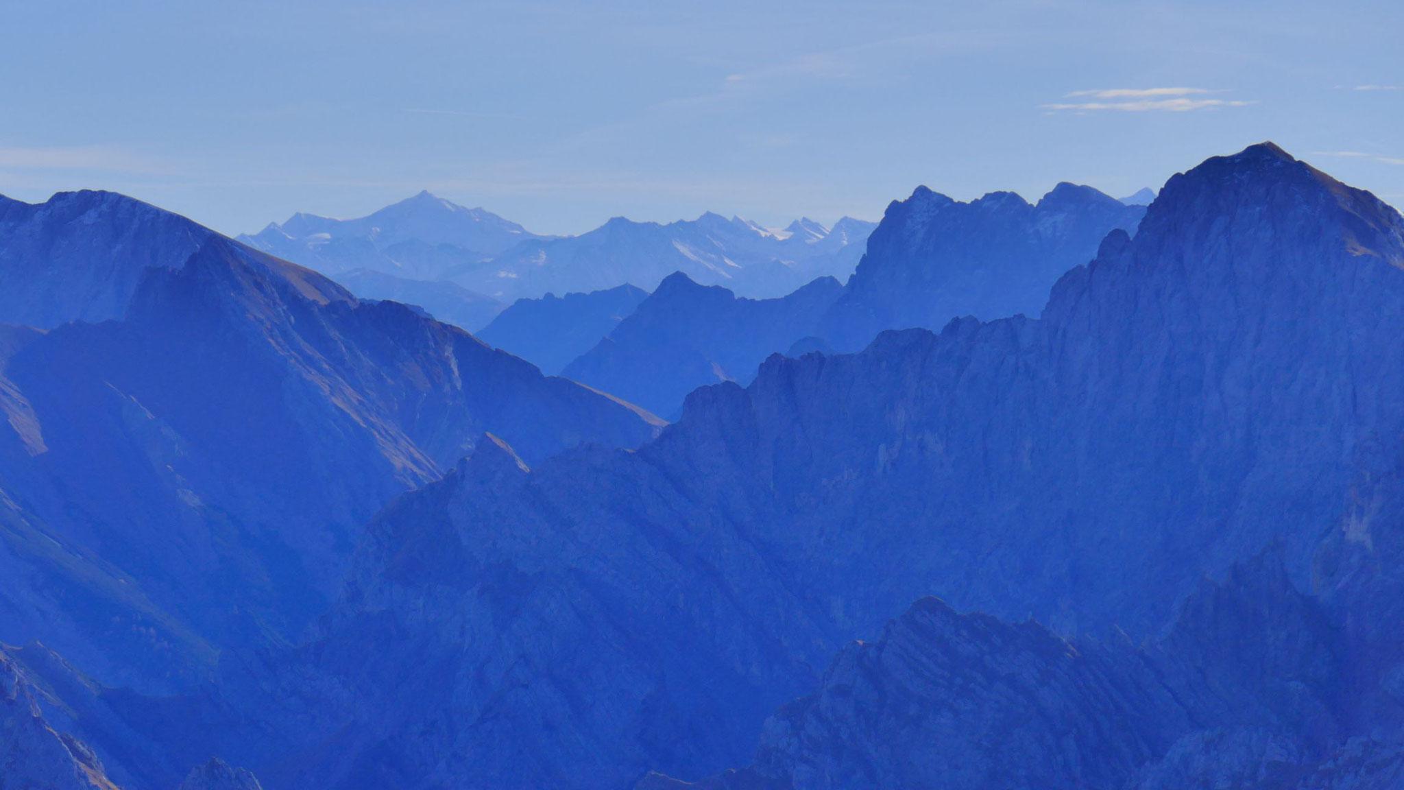 Über das östliche Karwendel bis zum Venediger